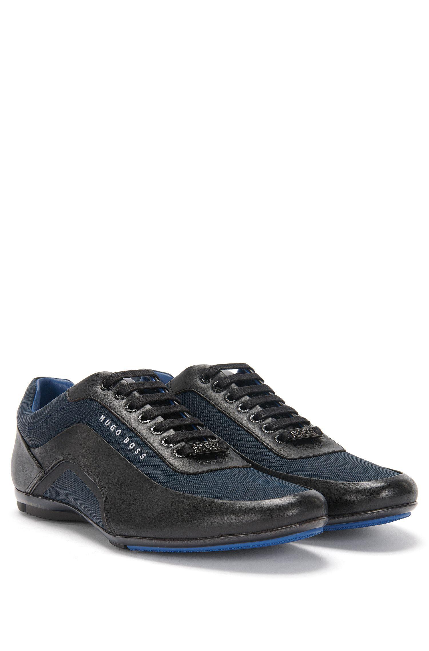 Leder-Sneakers mit Carbon-Fasern: Hbracing_Lowp_ltny'