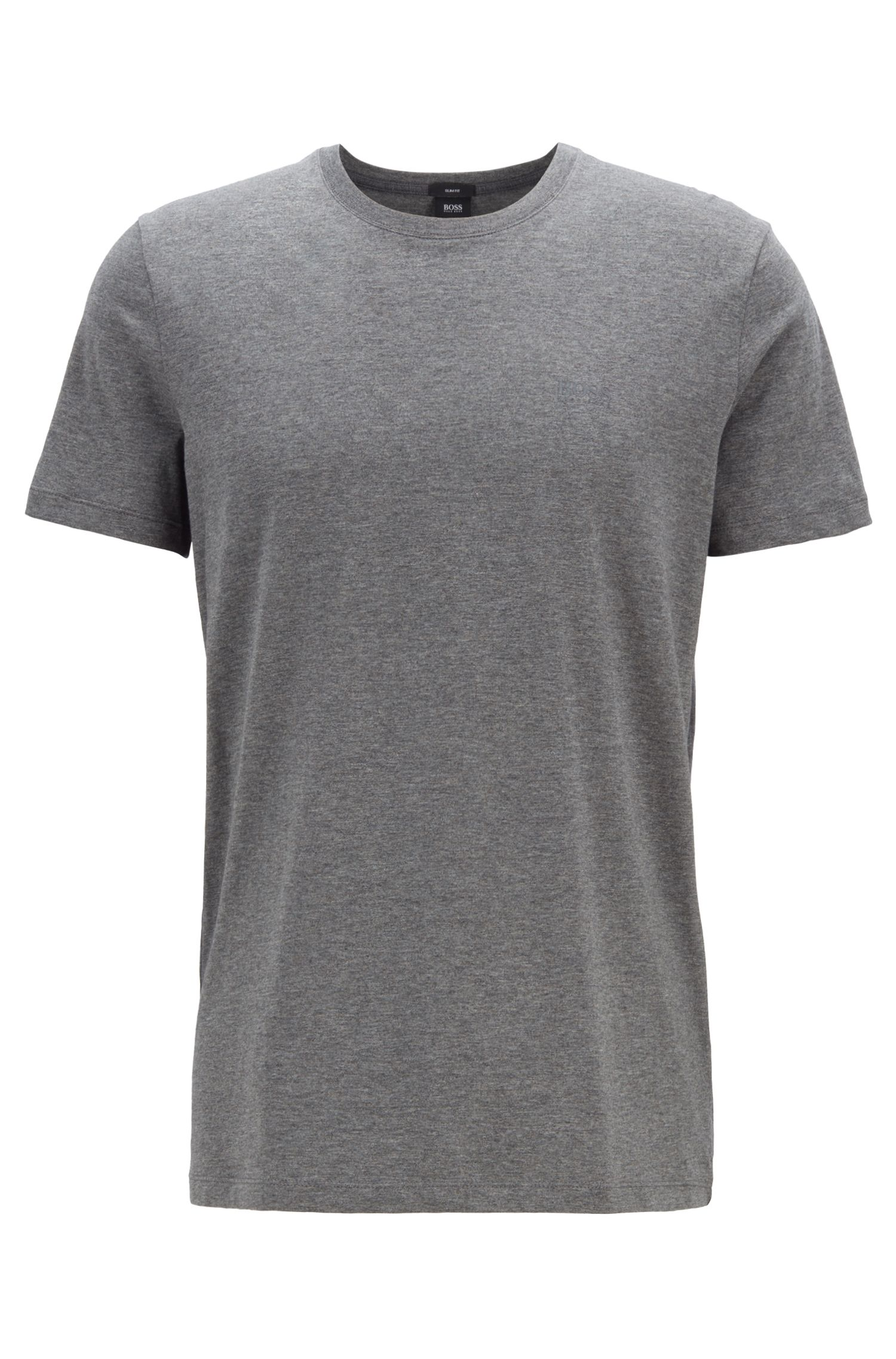 T-shirt slim fit in cotone: 'Tessler 33'