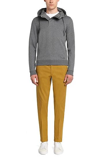 Slim-Fit T-Shirt aus Baumwolle: 'Tessler 33', Weiß