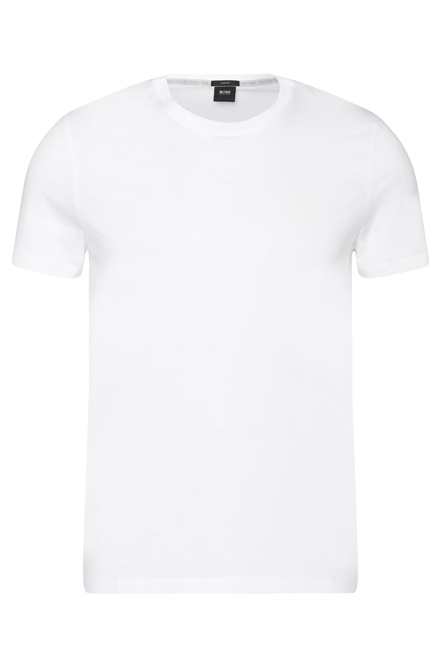 T-shirt Slim Fit en coton : « Tessler 33 »