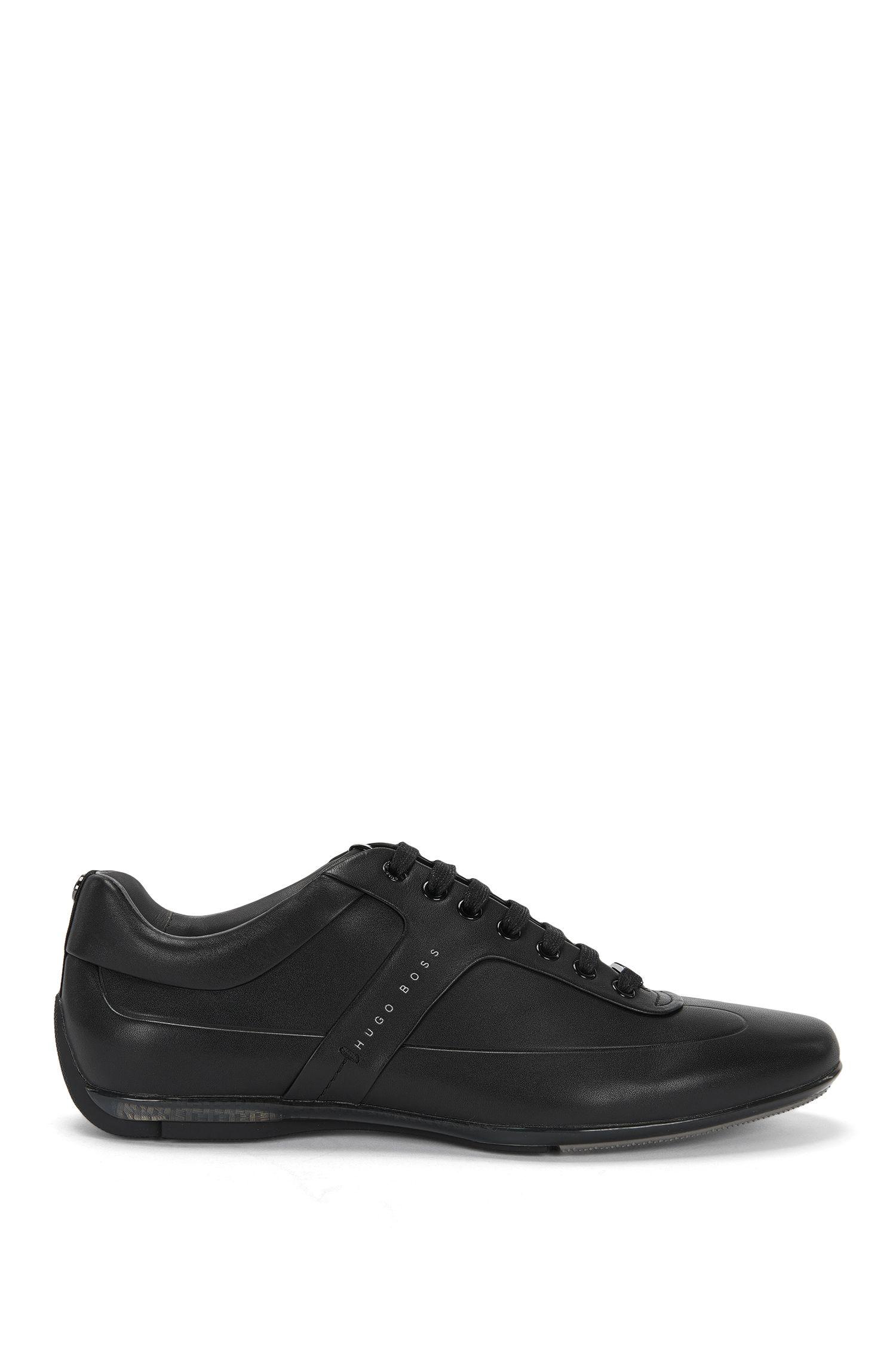 Leder-Sneakers: 'Sporty_Lowp_lthf' aus der Mercedes Benz-Kollektion