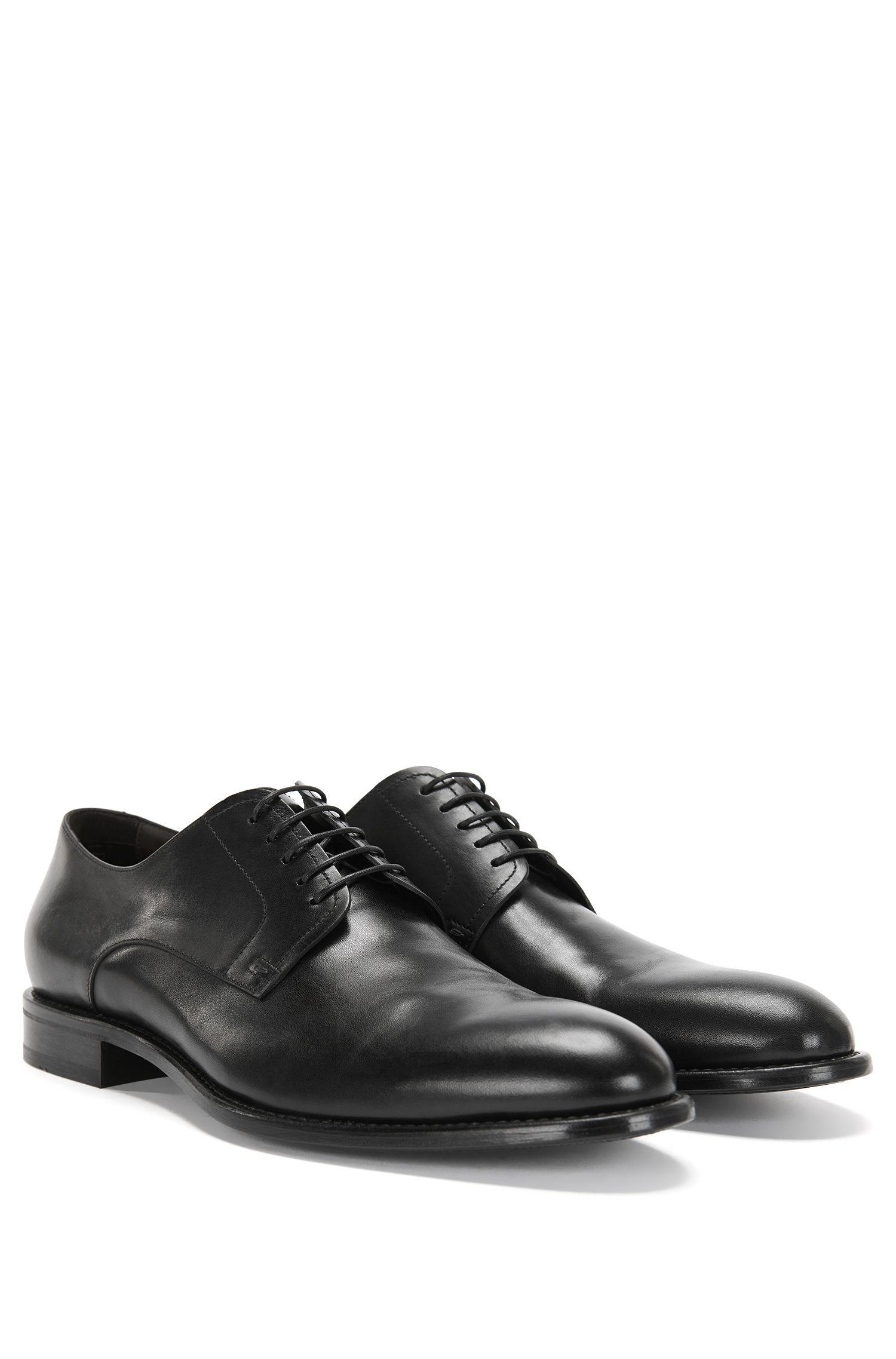 Chaussures à lacets en cuir de style derby: «Stockholm_Derb_ltpt»