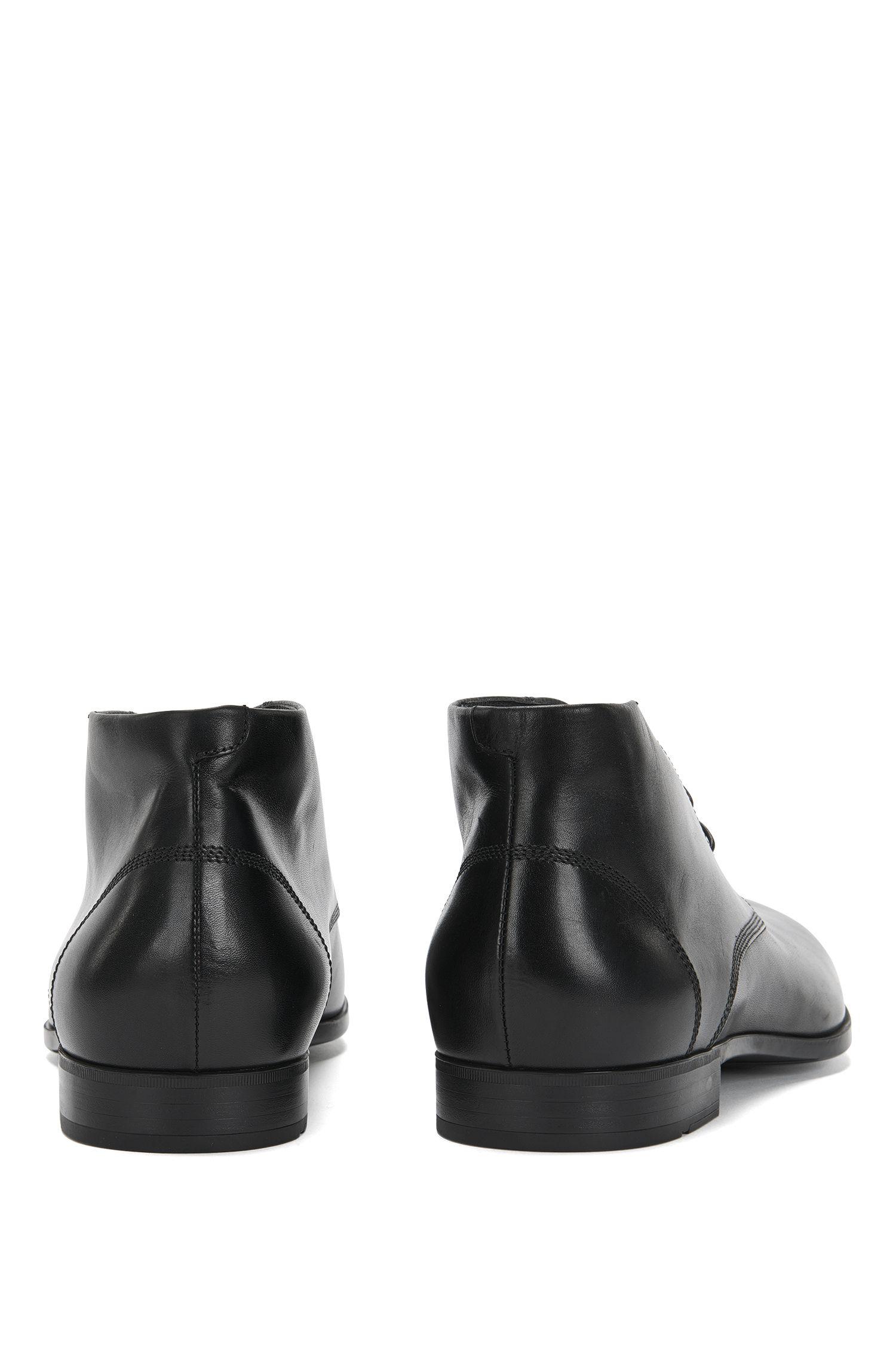 Desert boots en cuir lisse: «Union_Desb_ltpt»