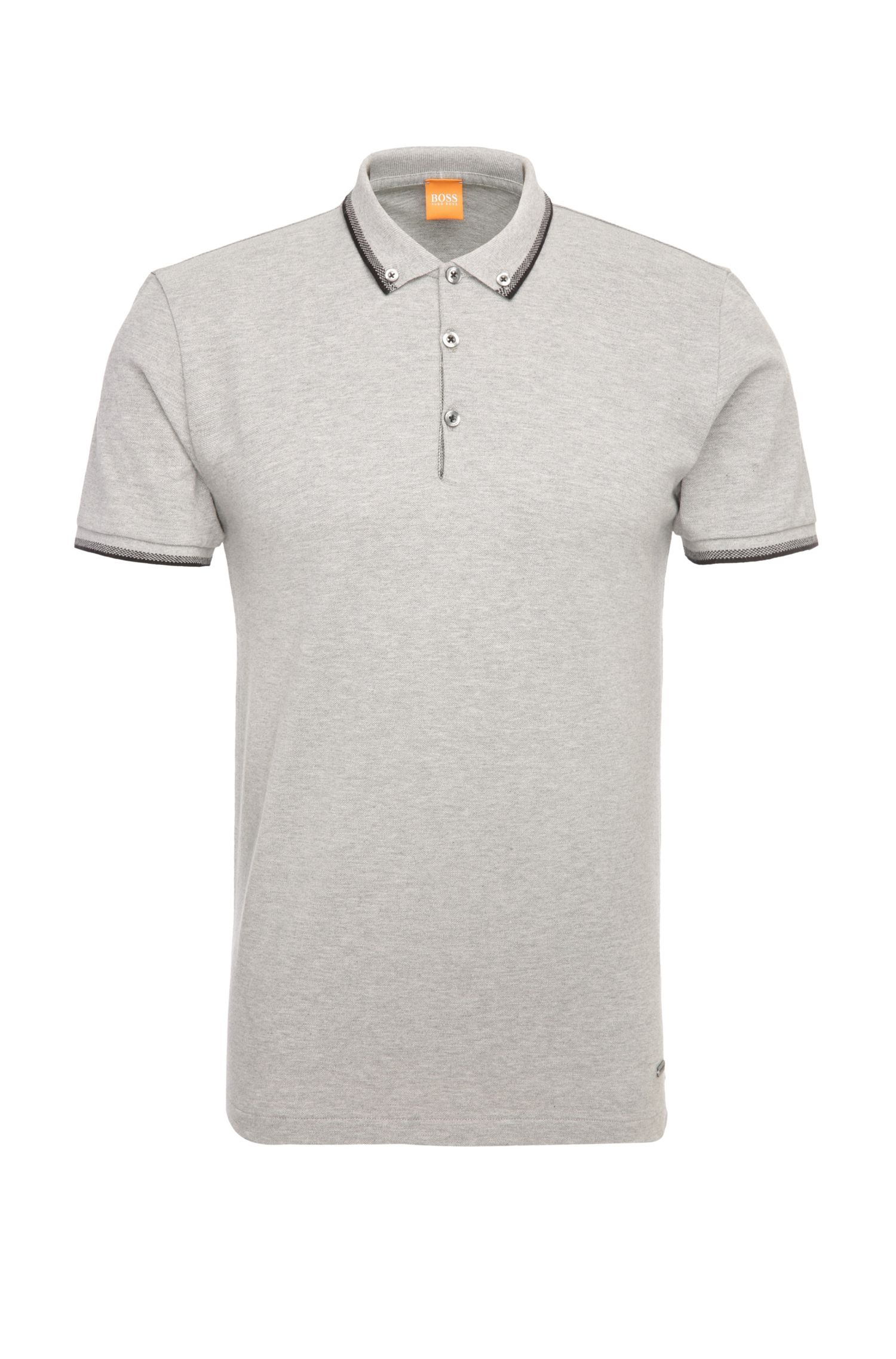 Polo Fashion Fit en pur coton : « Pejo 1 »