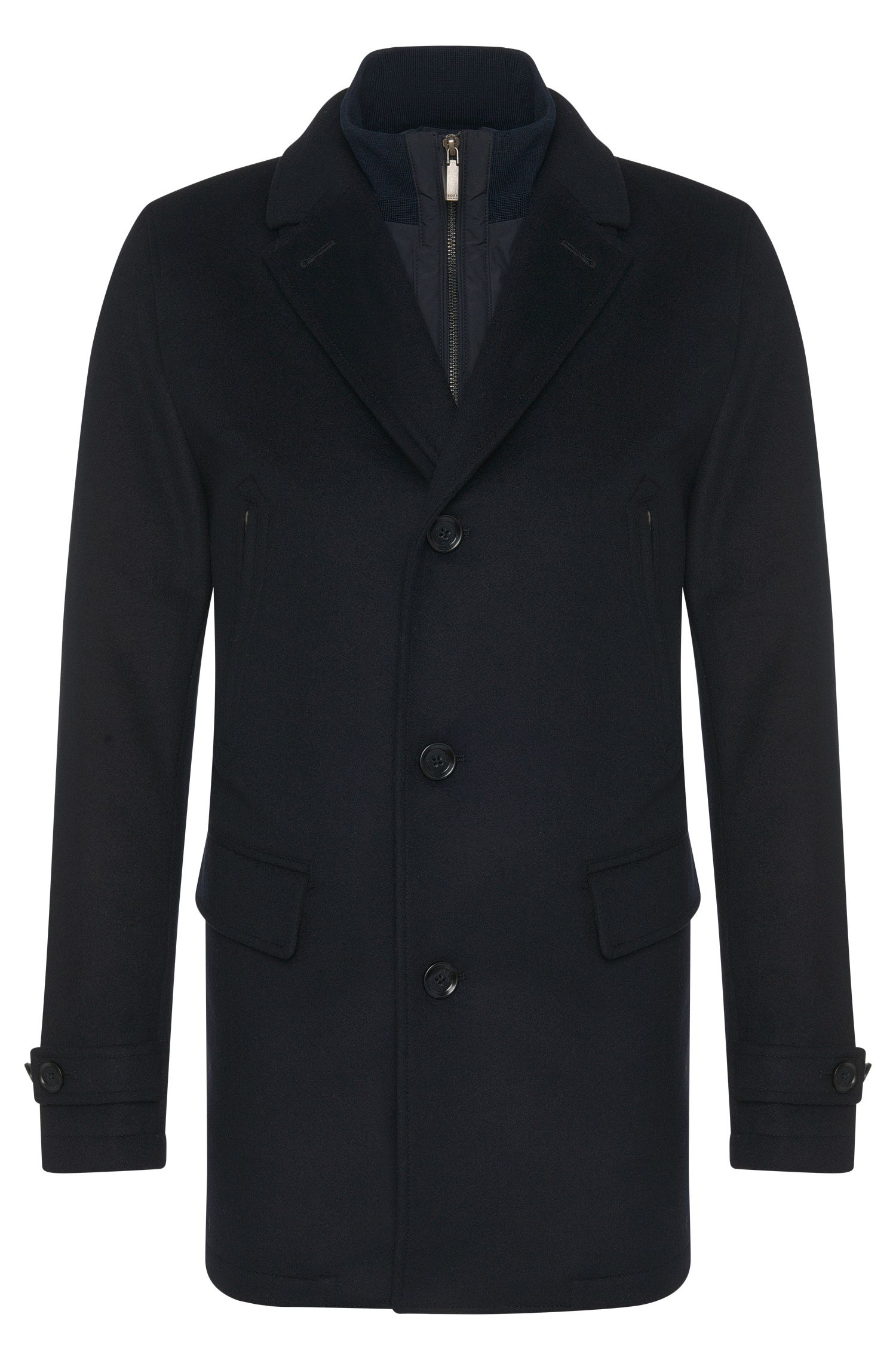 Jacket in new-wool blend with cashmere: 'Conant1'