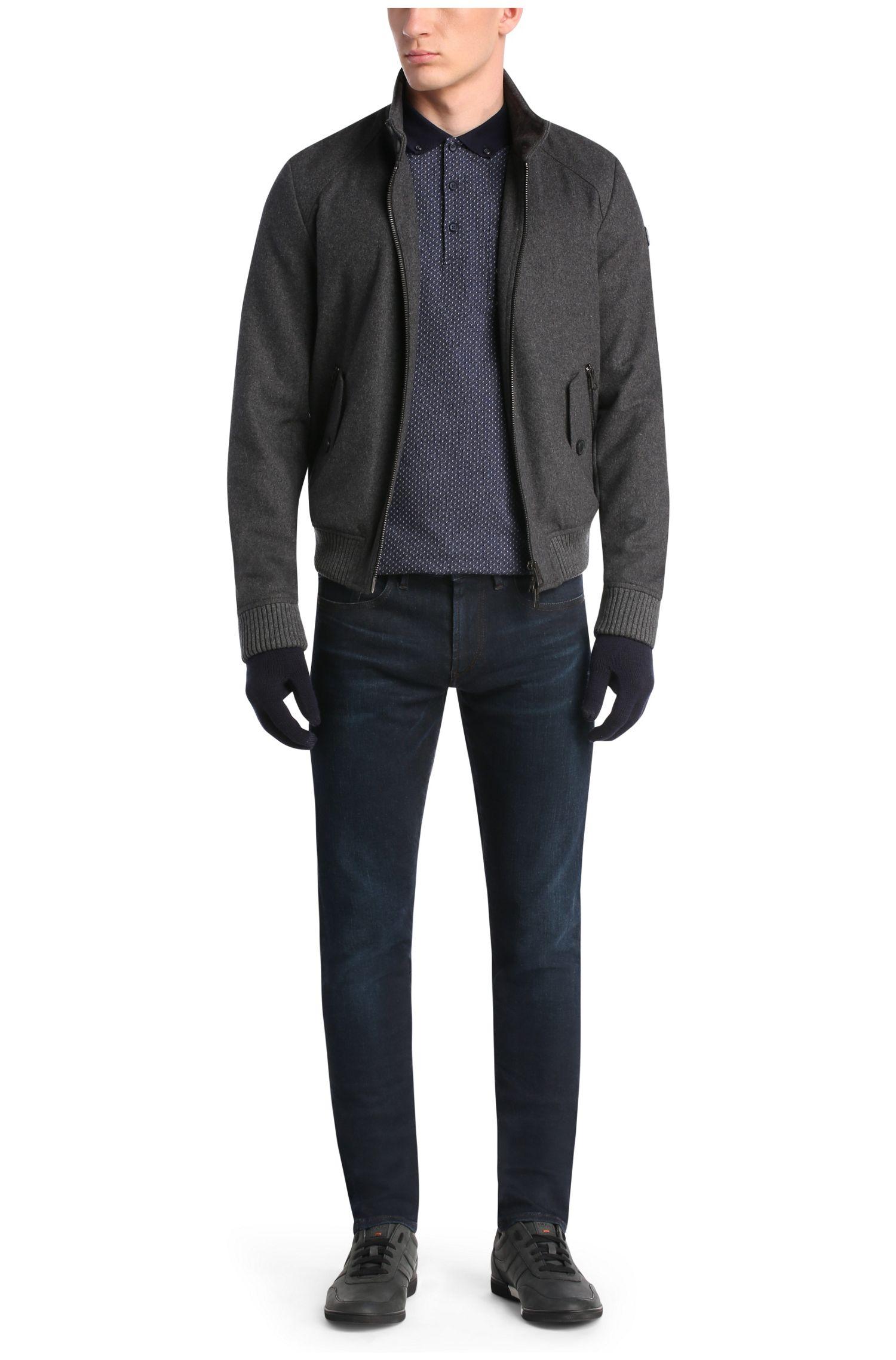 Slim-Fit Poloshirt aus Baumwolle mit Elasthan-Anteil: ´Picktown`