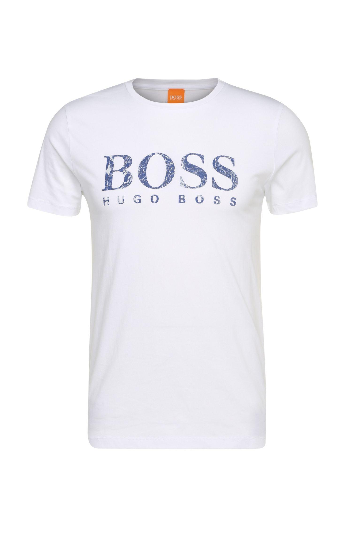 T-shirt in puro cotone con stampa del logo: 'Tommi 3'
