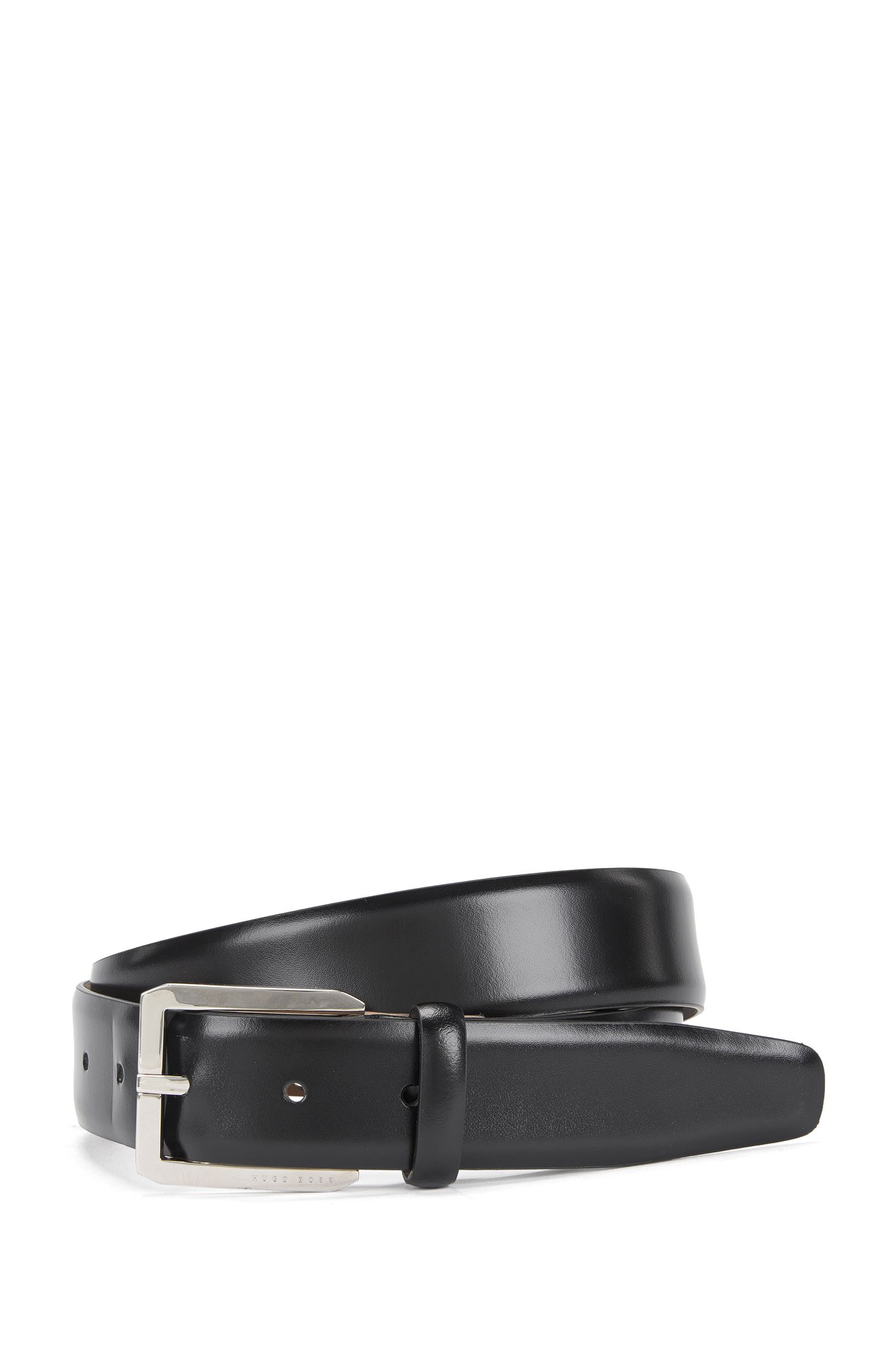 Tailored leather belt: 'T-Jason_Sz32_ltpl'