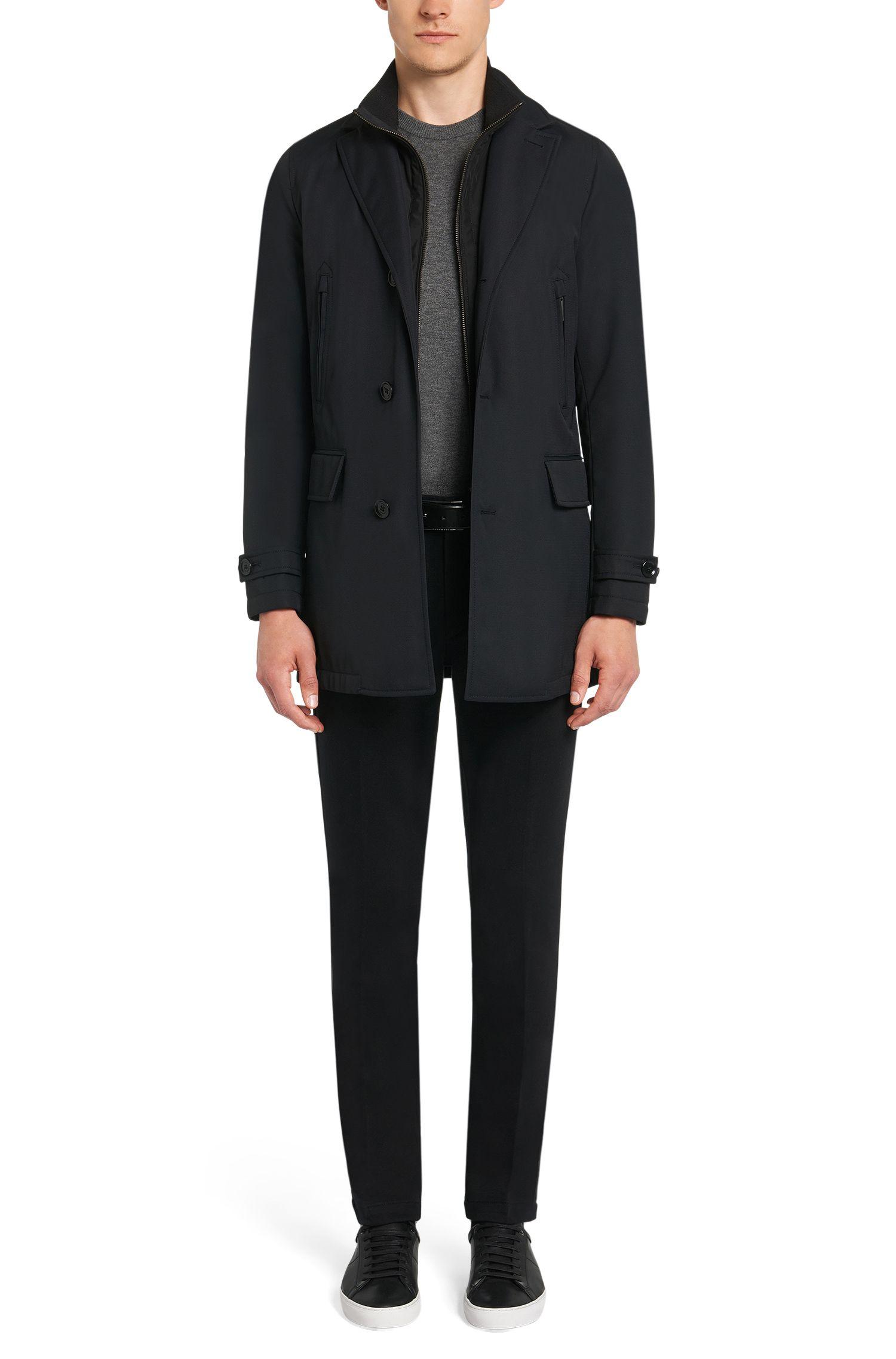 Regular-fit trui van kasjmier uit de Tailored-collectie: 'T-Borello'