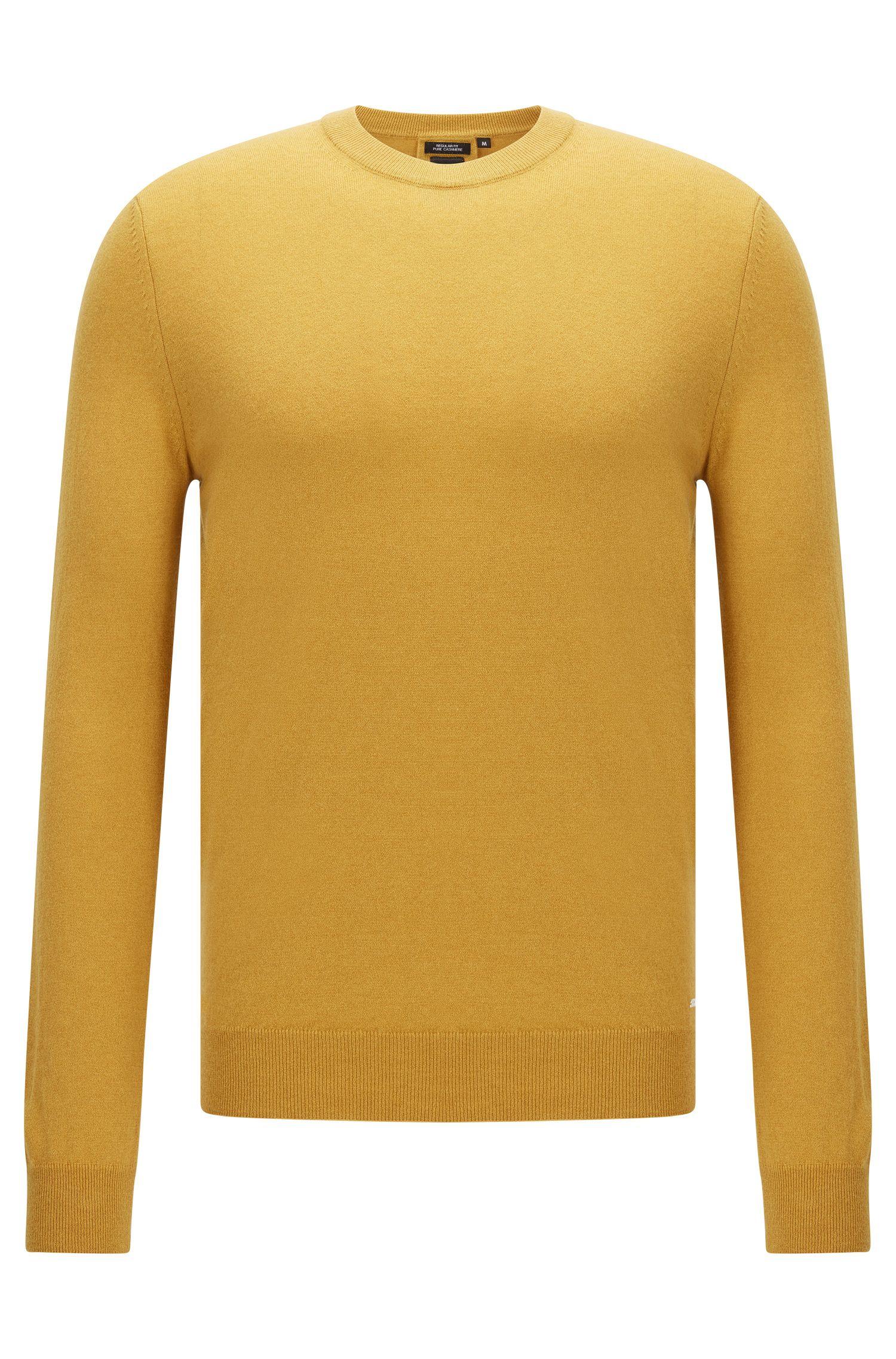 Regular-fit Tailored cashmere sweater: 'T-Borello'