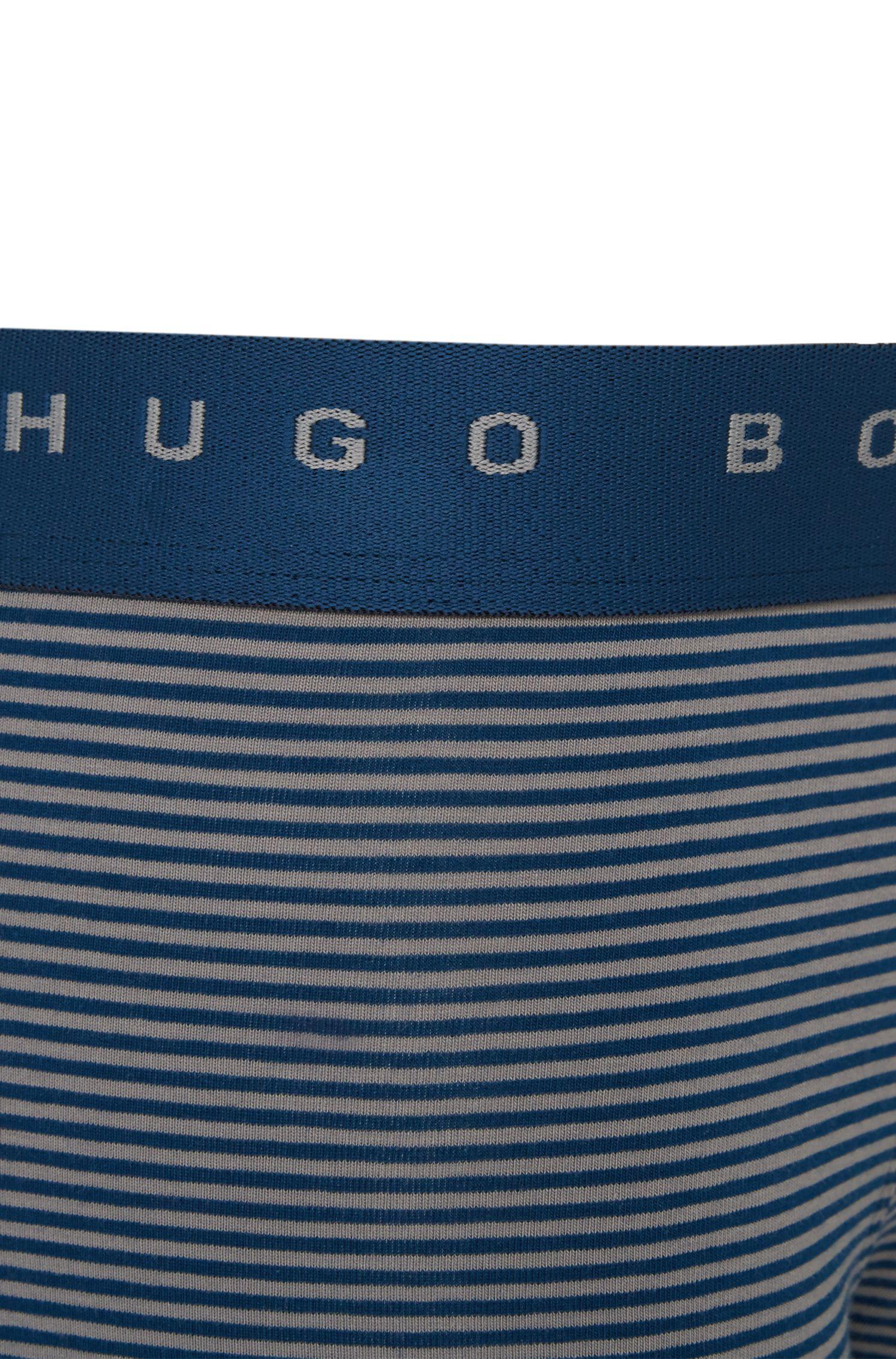 Boxer à rayures en coton stretch: «Boxer Stripes»