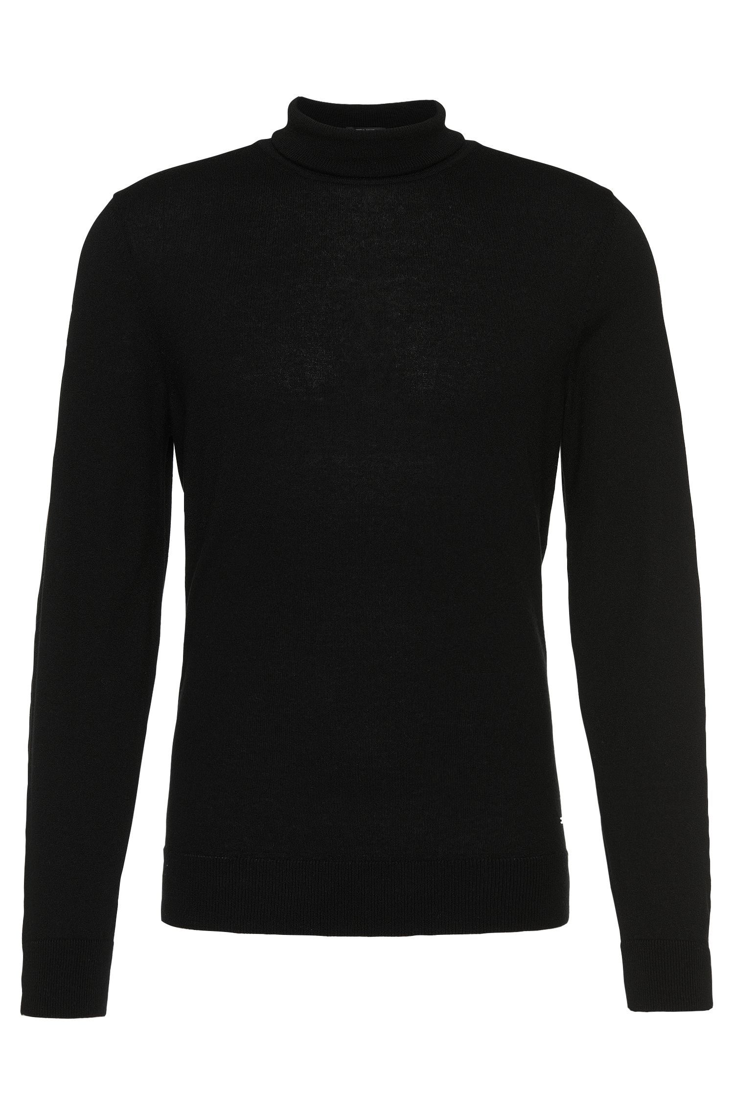 Regular-Fit Tailored-Rollkragenpullover aus Kaschmir: 'T-Bernardo'
