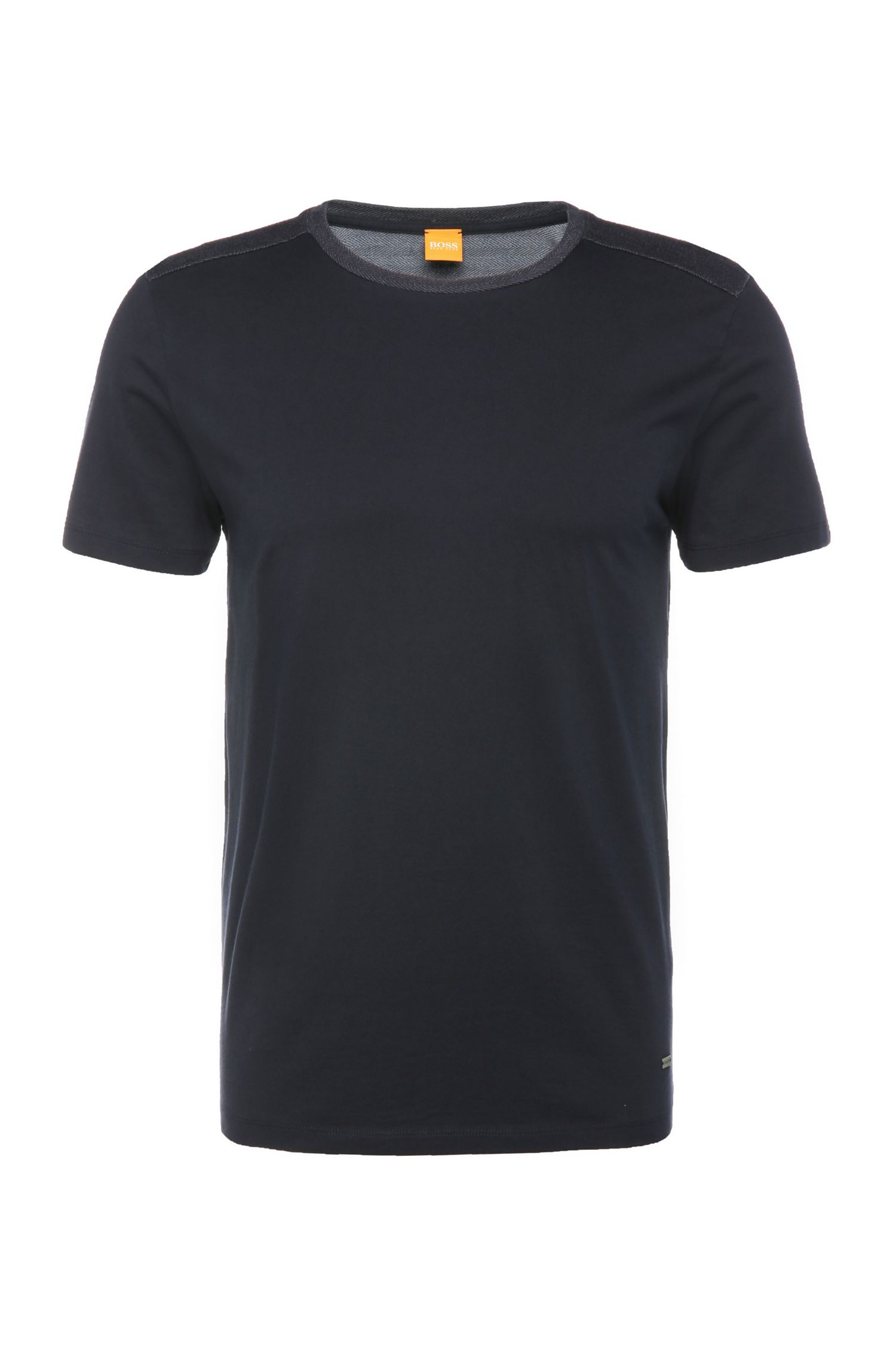 Regular-Fit T-Shirt aus Baumwolle: ´Trike`