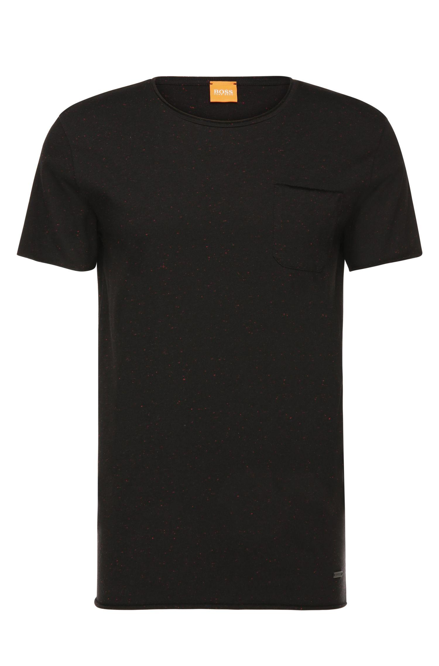Dezent meliertes T-Shirt mit Rundhalsausschnitt: ´Tedoryk`
