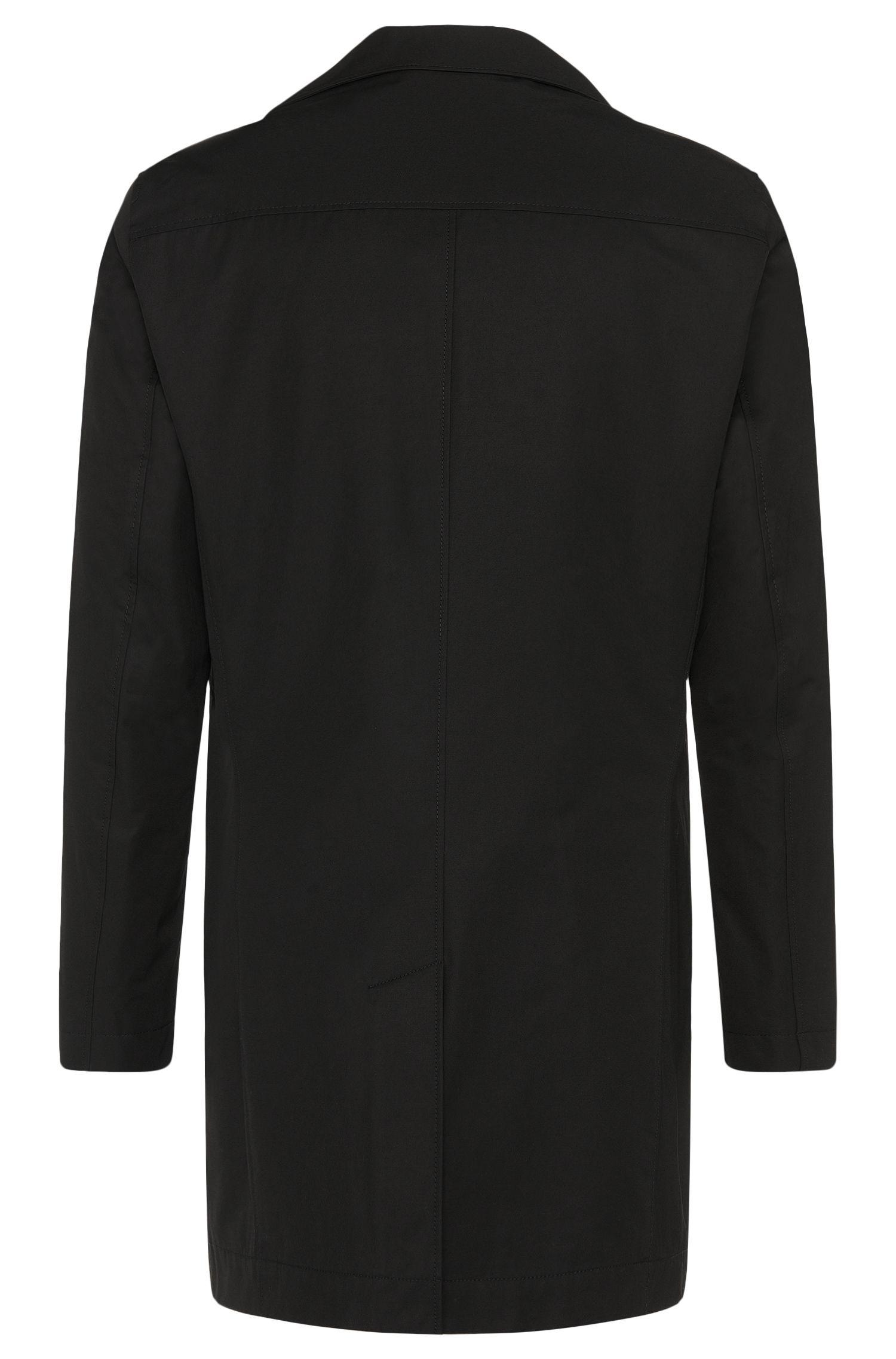 Unifarbener Mantel aus Baumwoll-Mix: 'Dais9'