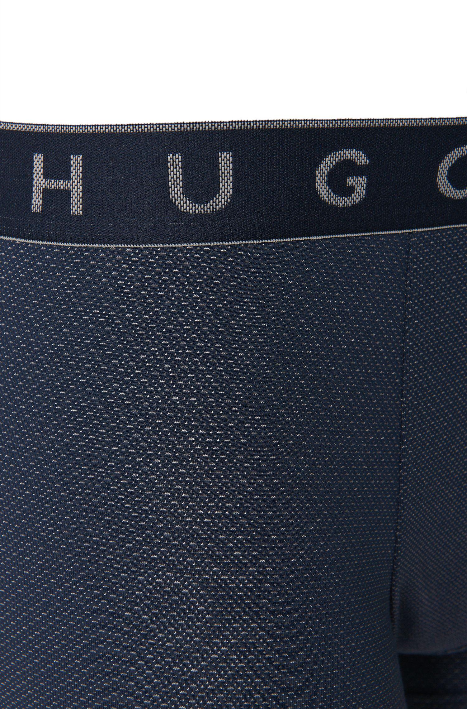 Boxershort aus elastischem Baumwoll-Mix mit Modal: 'Microjacquard'