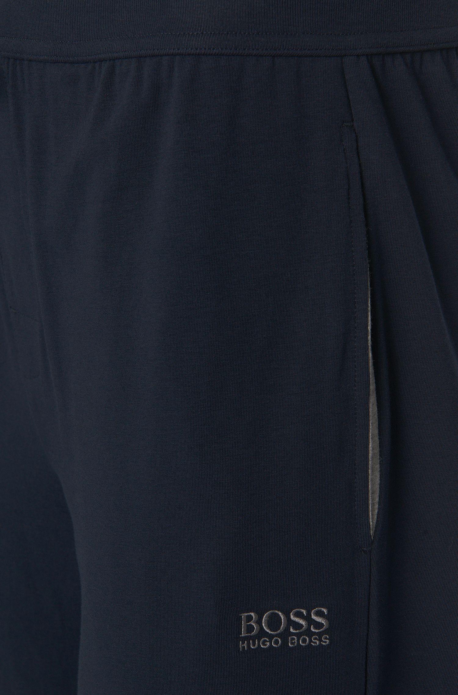 Pantalon sweat en coton stretch avec cordon de serrage: «Long Pant CW Cuffs»
