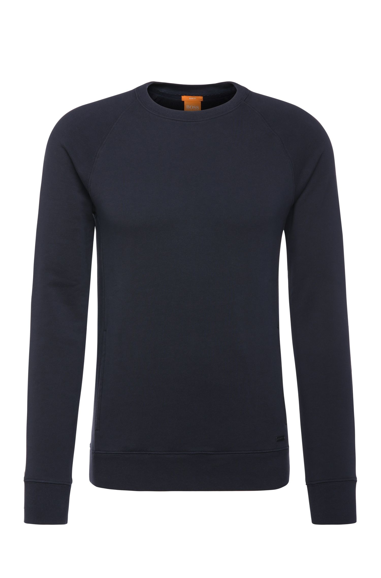 Slim-Fit Sweater aus Baumwolle: ´Wheel`