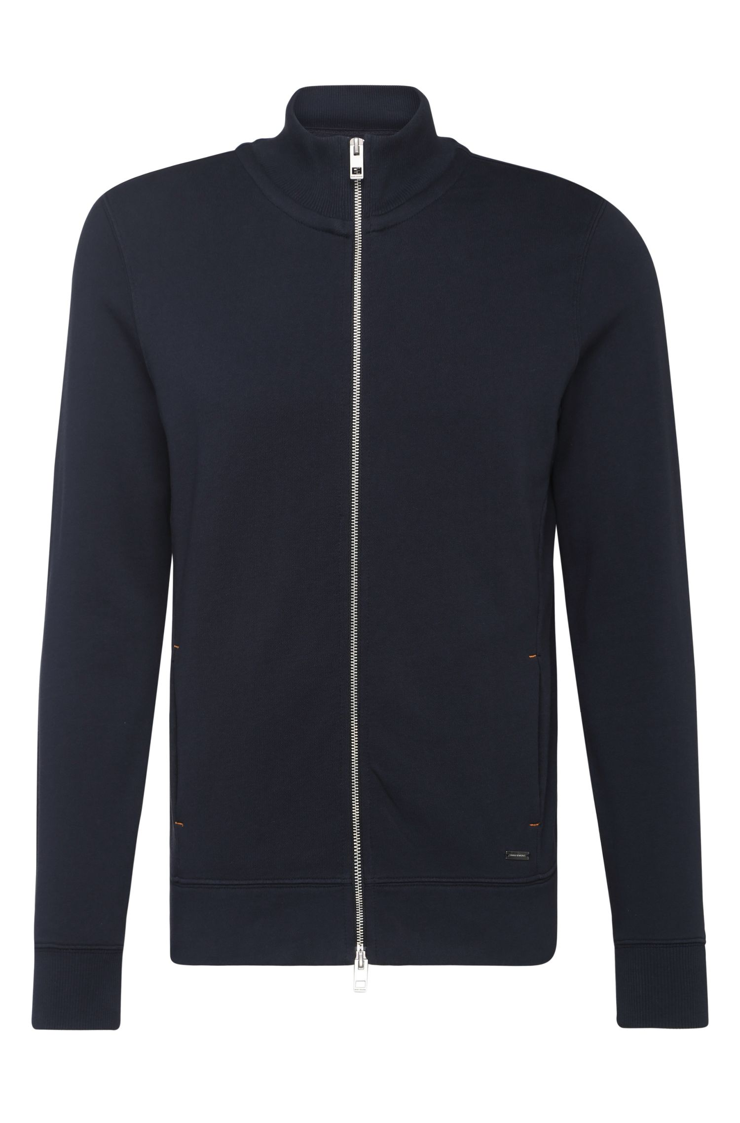 Regular-Fit Sweatshirt-Jacke aus Baumwolle: ´Zissou`