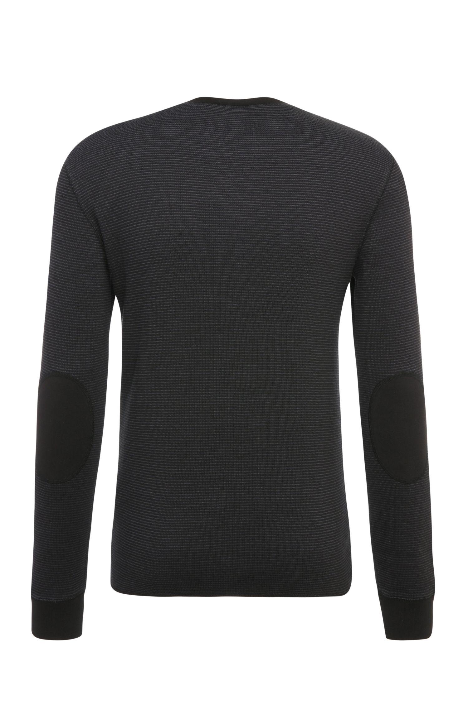 Lichte slim-fit trui van katoen: 'Wot'