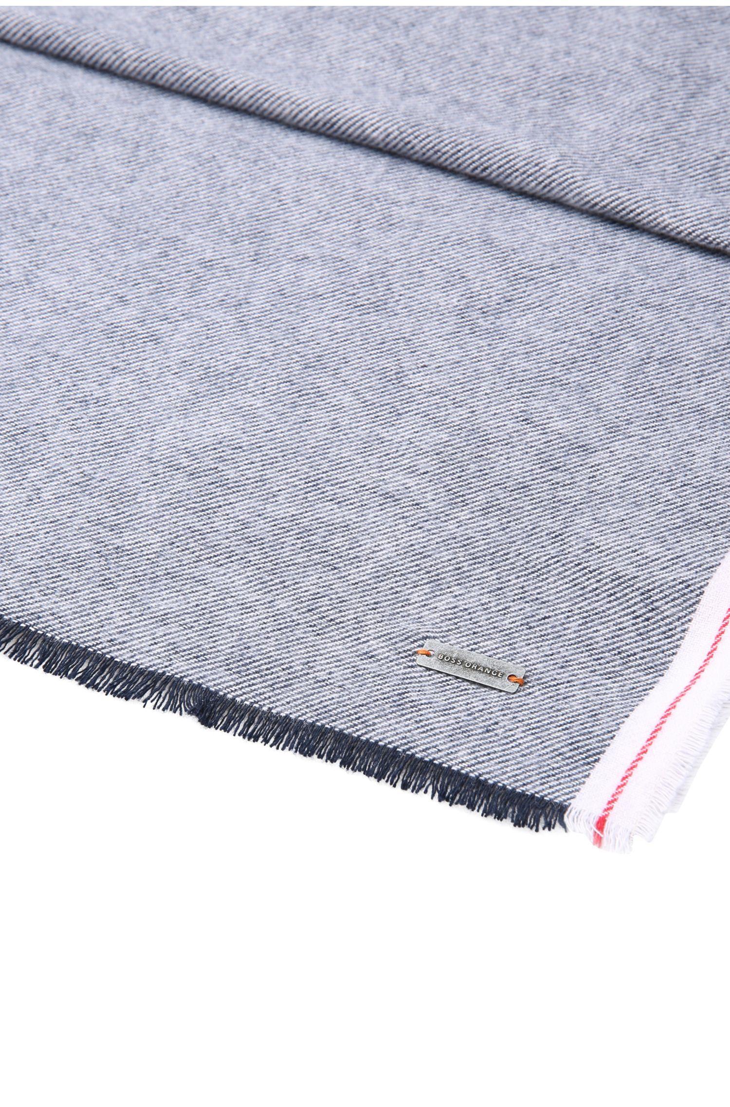 Sjaal van gestructureerde katoen: 'Noell'