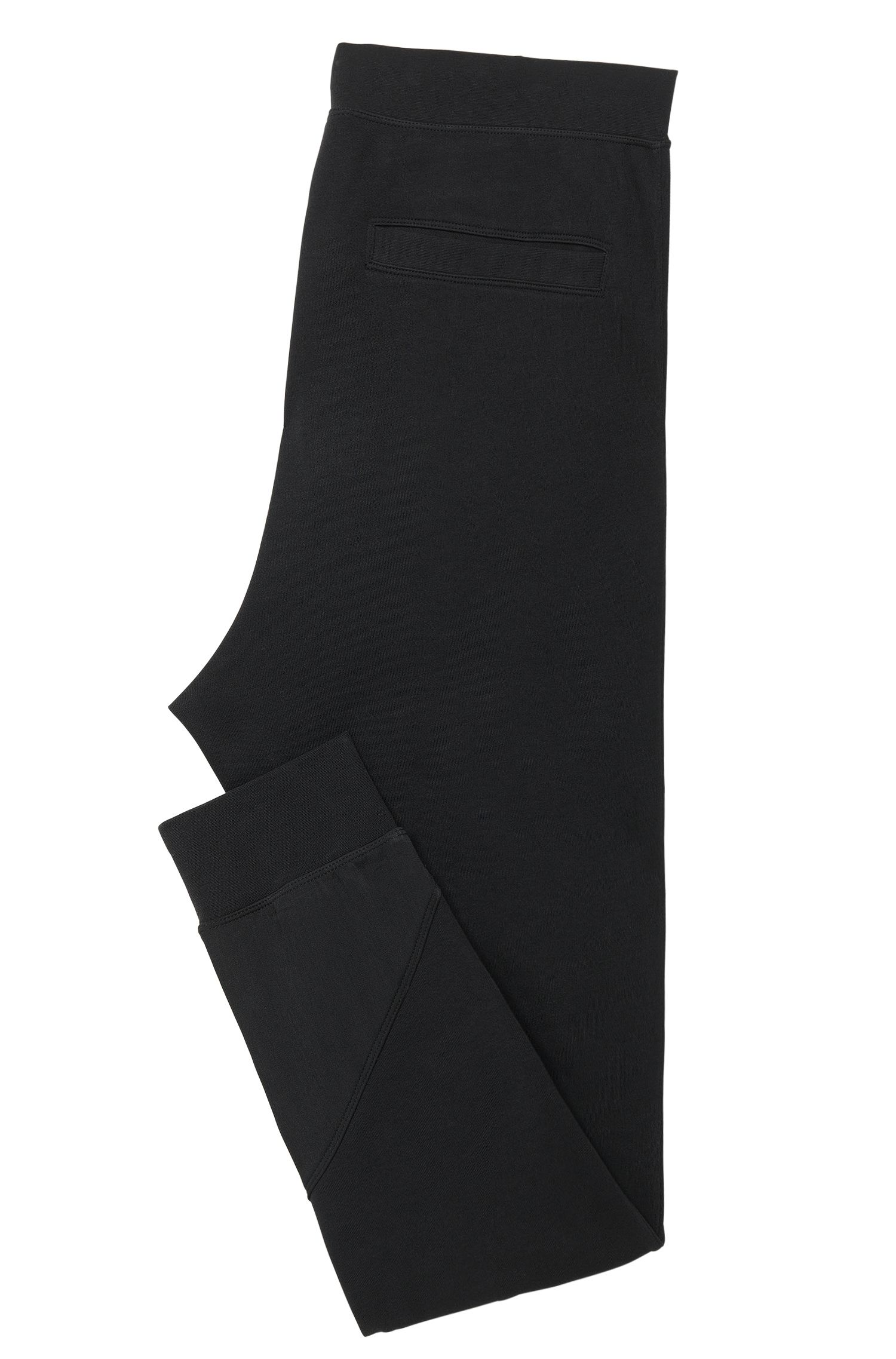 Regular-Fit Sweathose aus Baumwolle mit innenliegendem Tunnelzug: 'Dugh'