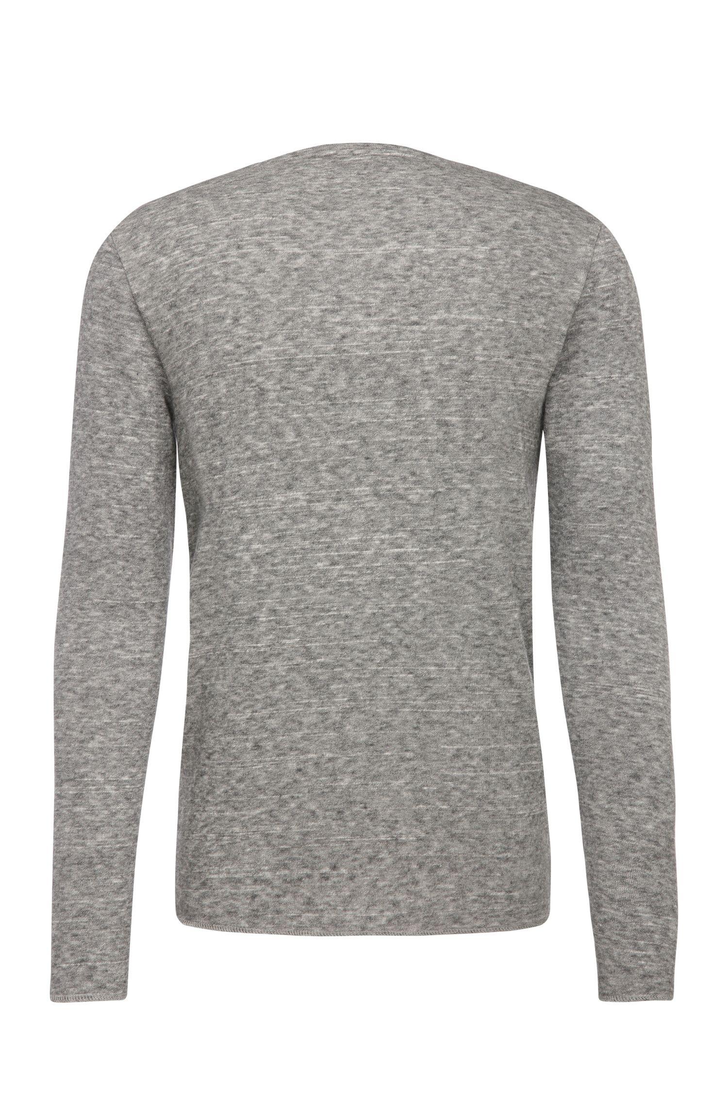 Sweat ajusté en coton mélangé à de la laine: «Wayy»