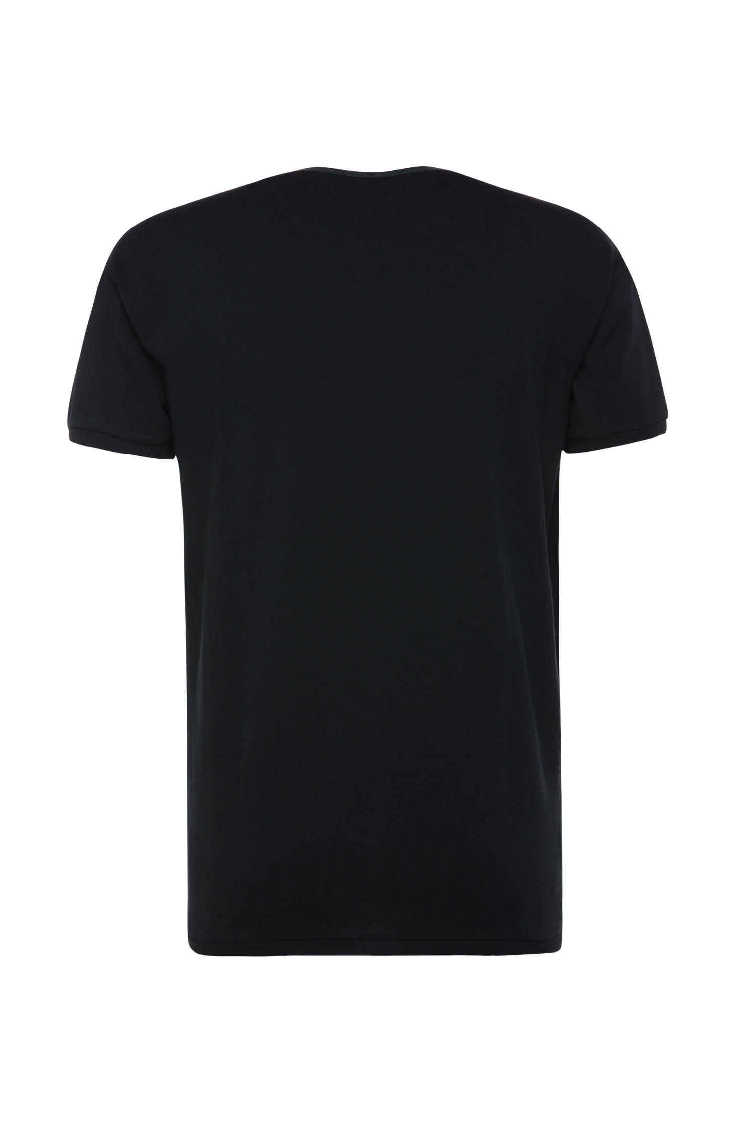 Comfort-Fit T-Shirt aus Baumwollpiqué: ´Tanzy`