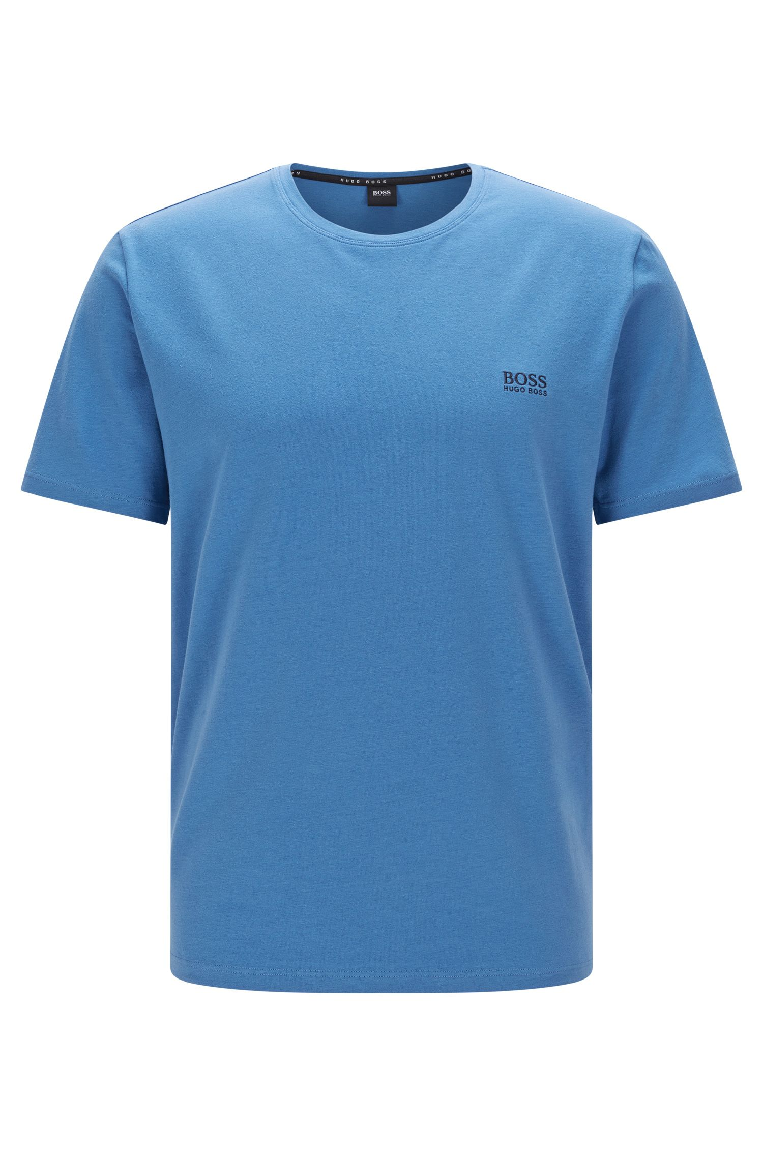 T-shirt uni en coton stretch: «T-Shirt RN»