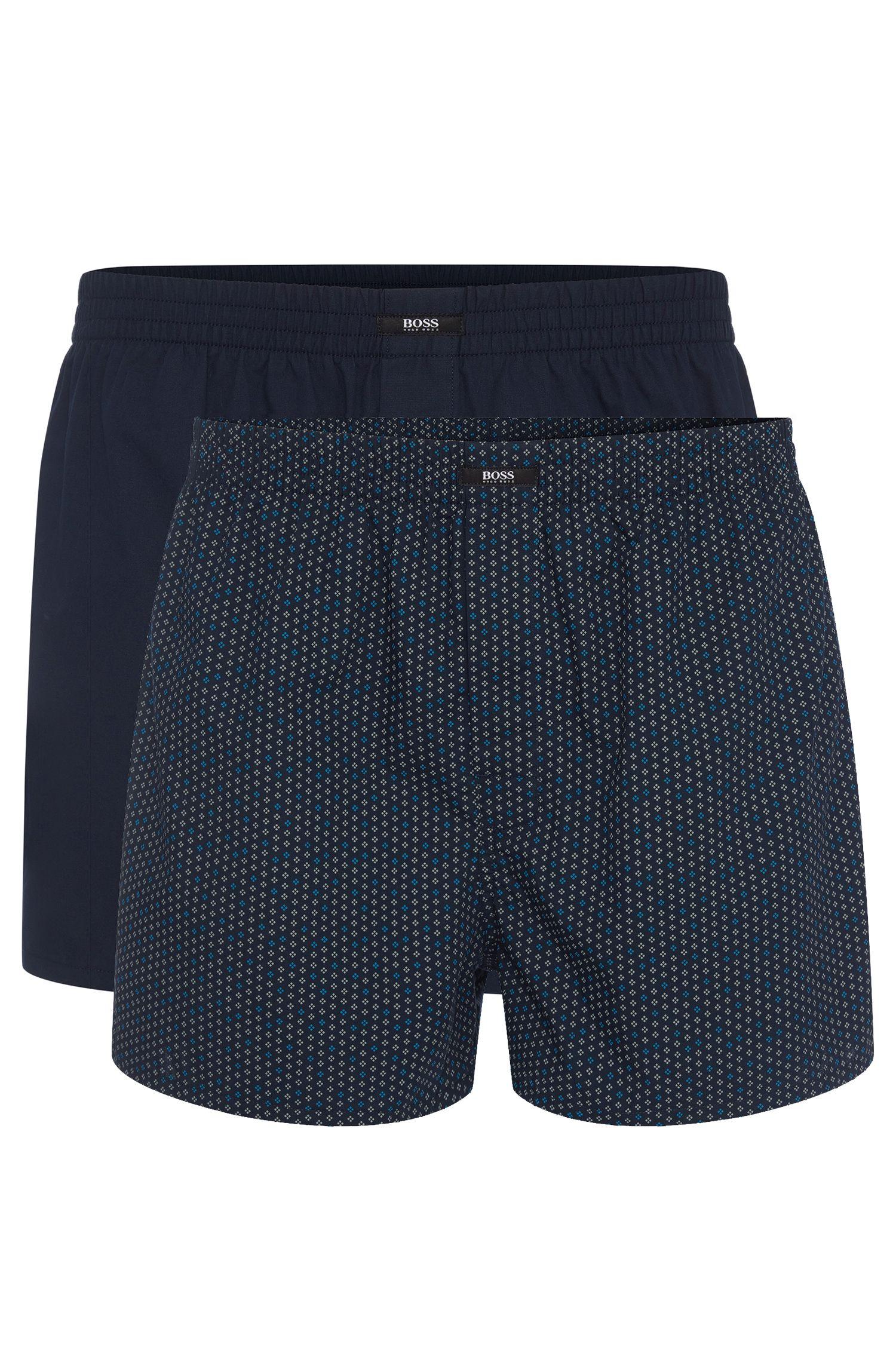 Boxershorts aus Baumwolle im Zweier-Pack: 'Boxer CW 2P'