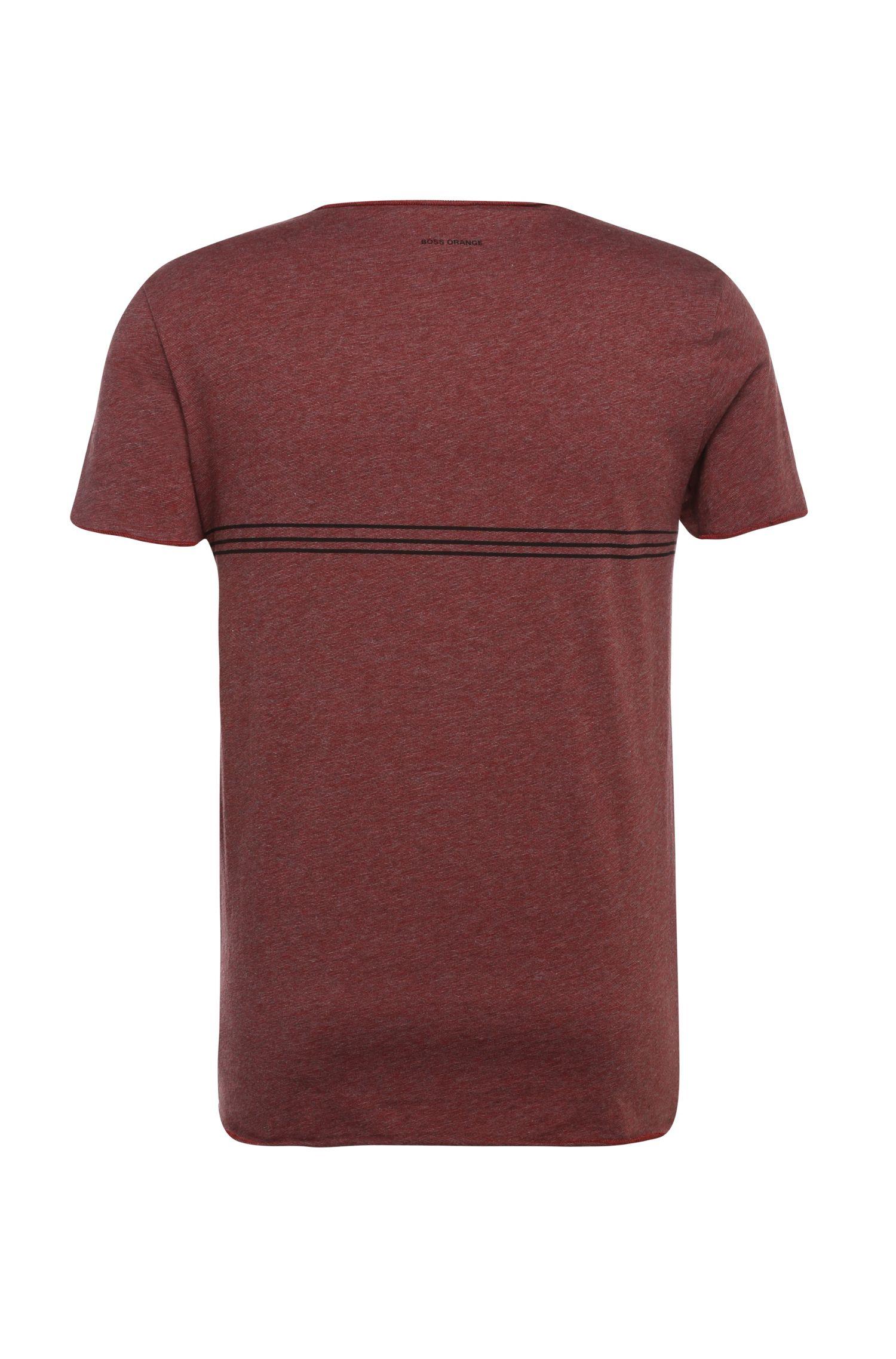 Bedrucktes Slim-Fit Baumwollshirt: ´Twiah`