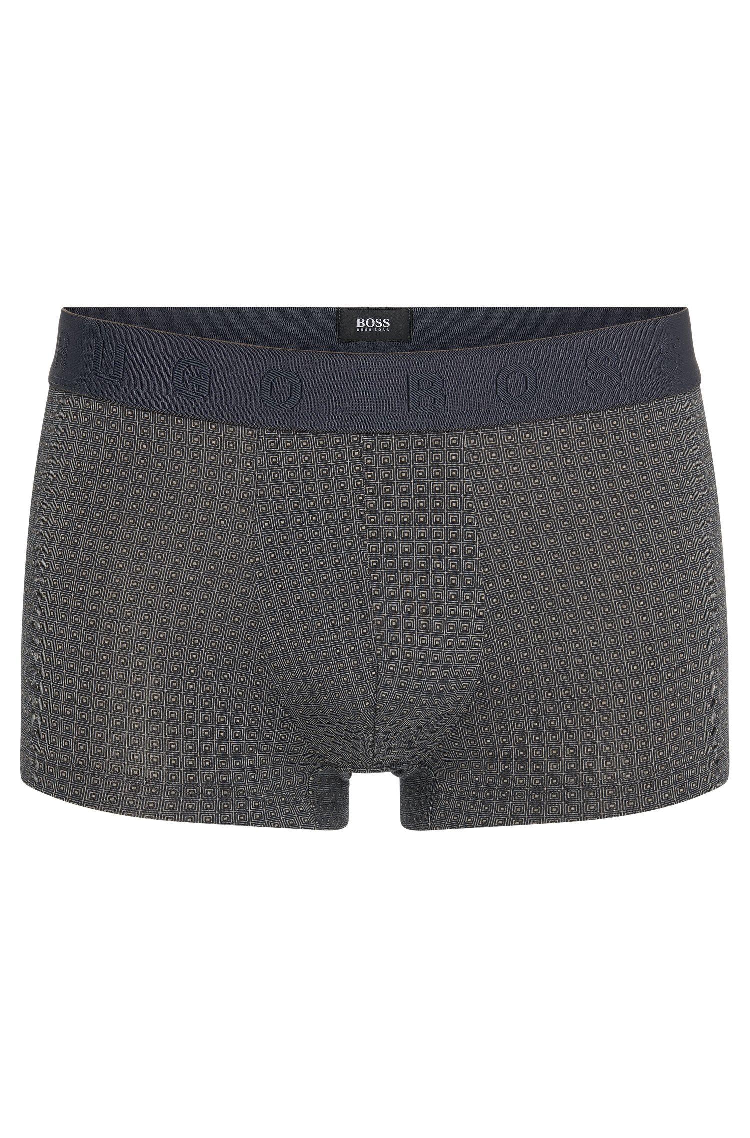 Calzoncillos boxer con estampado integral en mezcla de algodón y modal: 'Boxer Microprint'