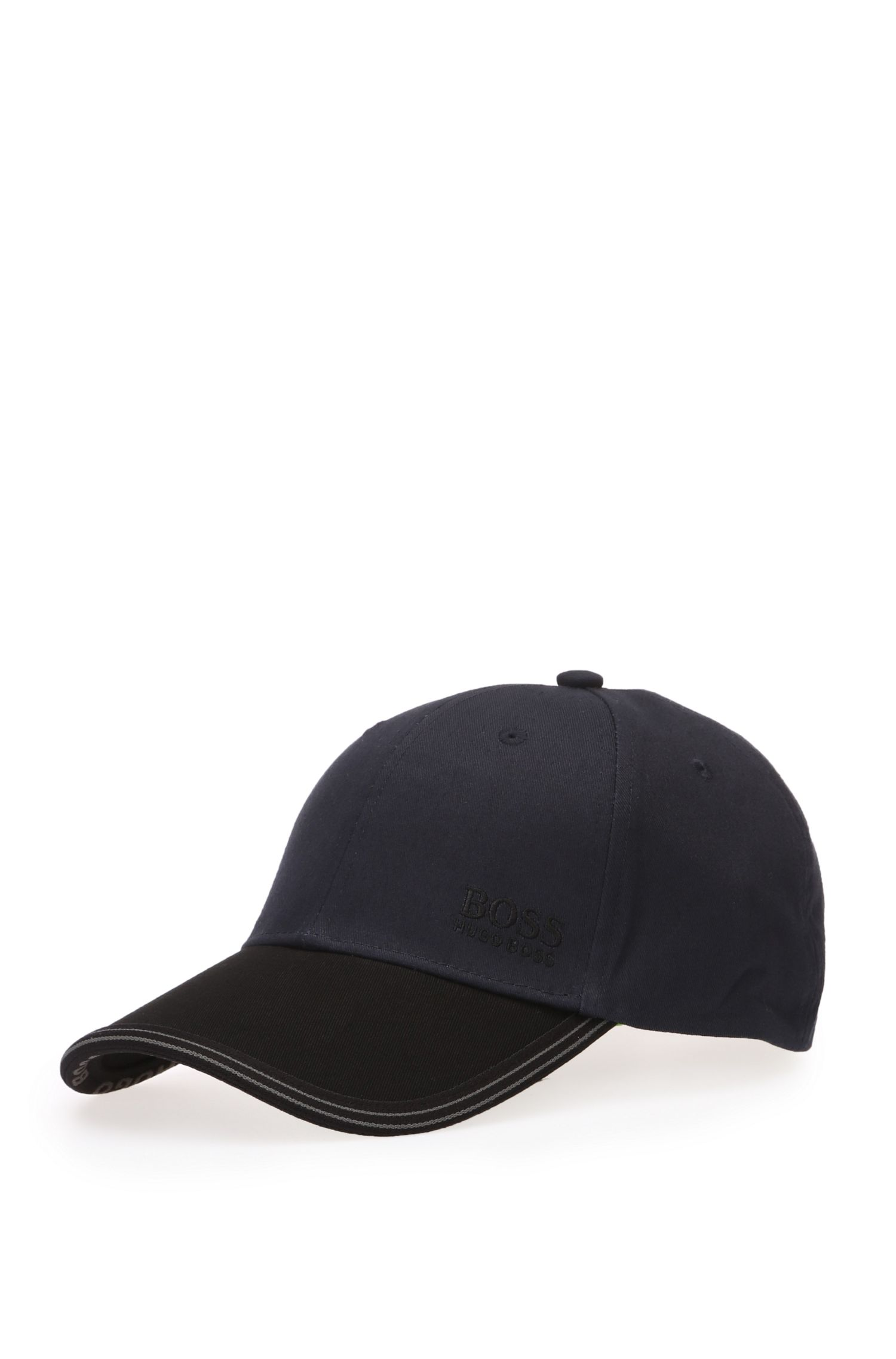 2-tone cap in cotton: 'Cap 12'
