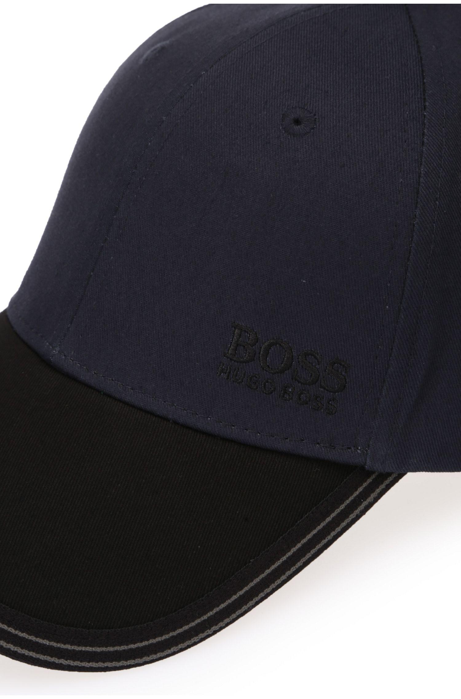 Zweifarbige Cap aus Baumwolle: ´Cap 12`