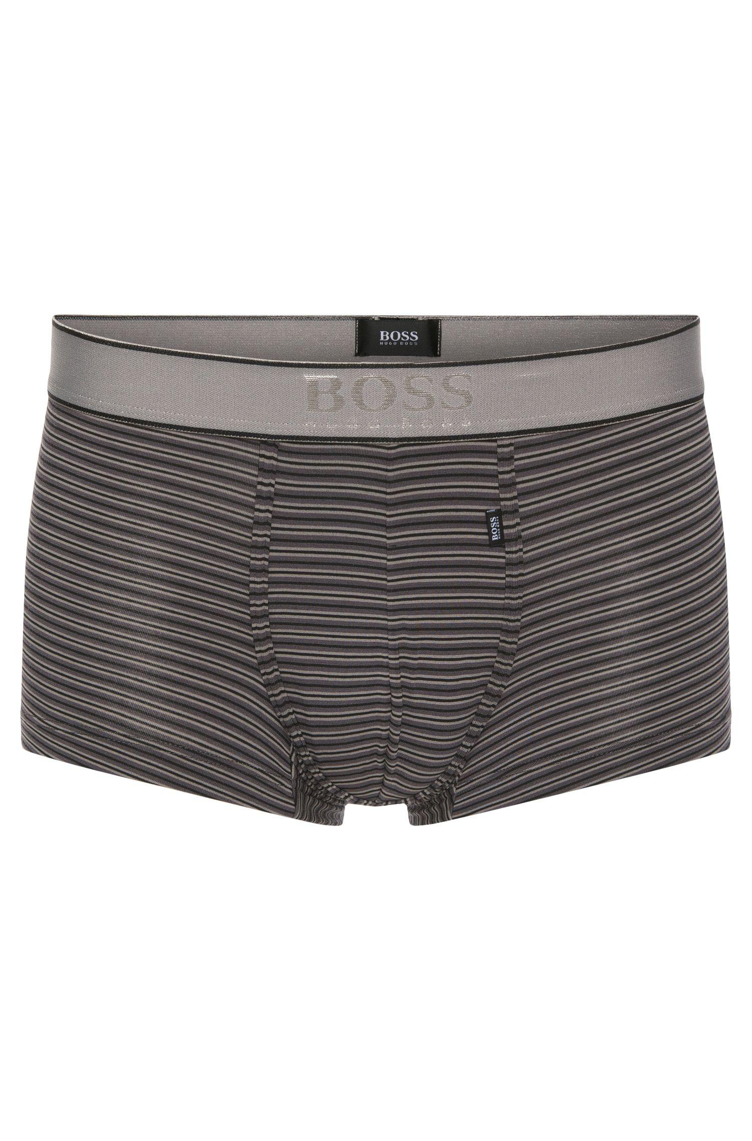 Striped boxer shorts in stretchy modal blend: 'Boxer Modal stripes'