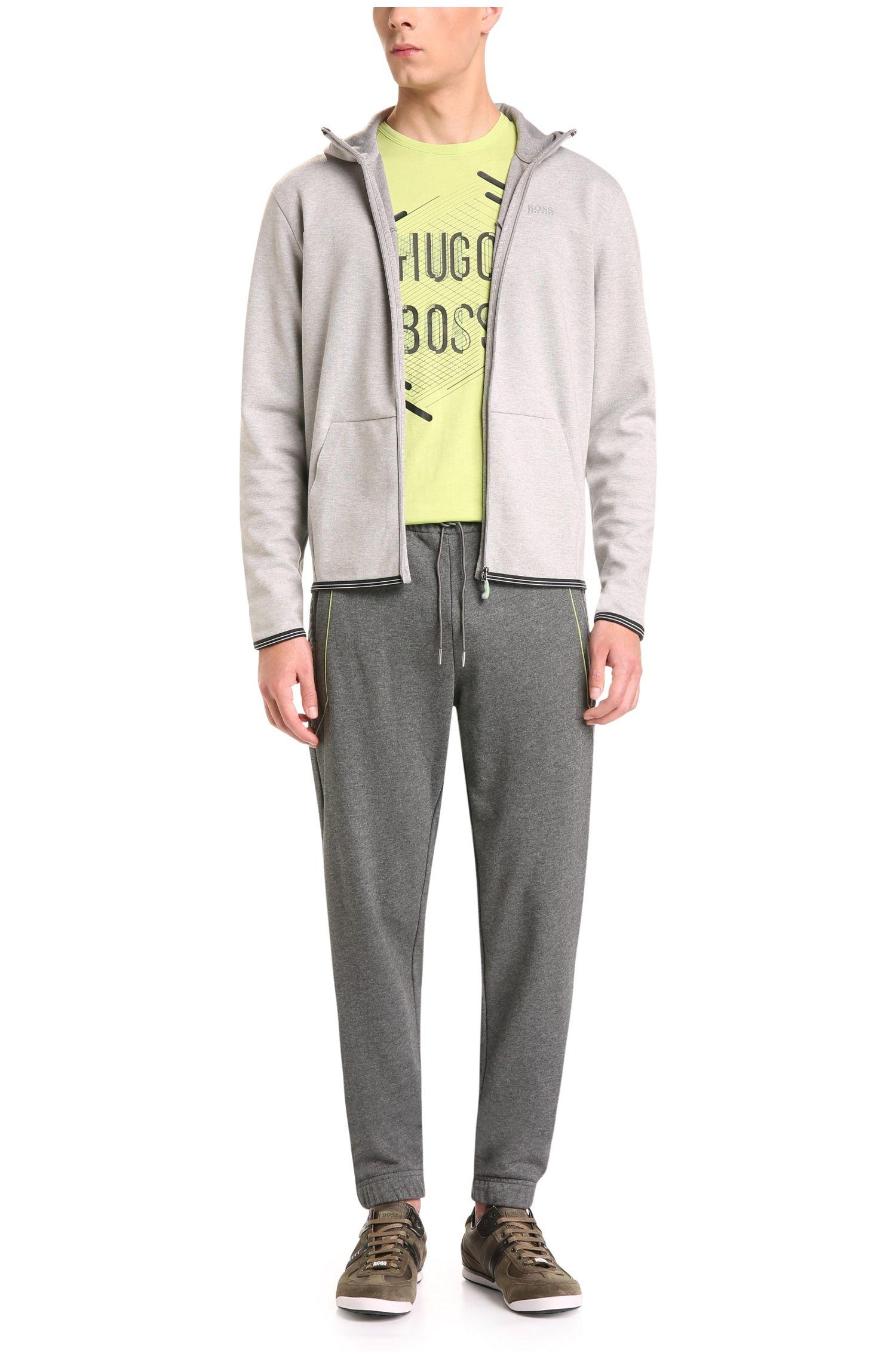 Regular-Fit Sweatshirt-Jacke aus Baumwoll-Mix: ´Skeach`