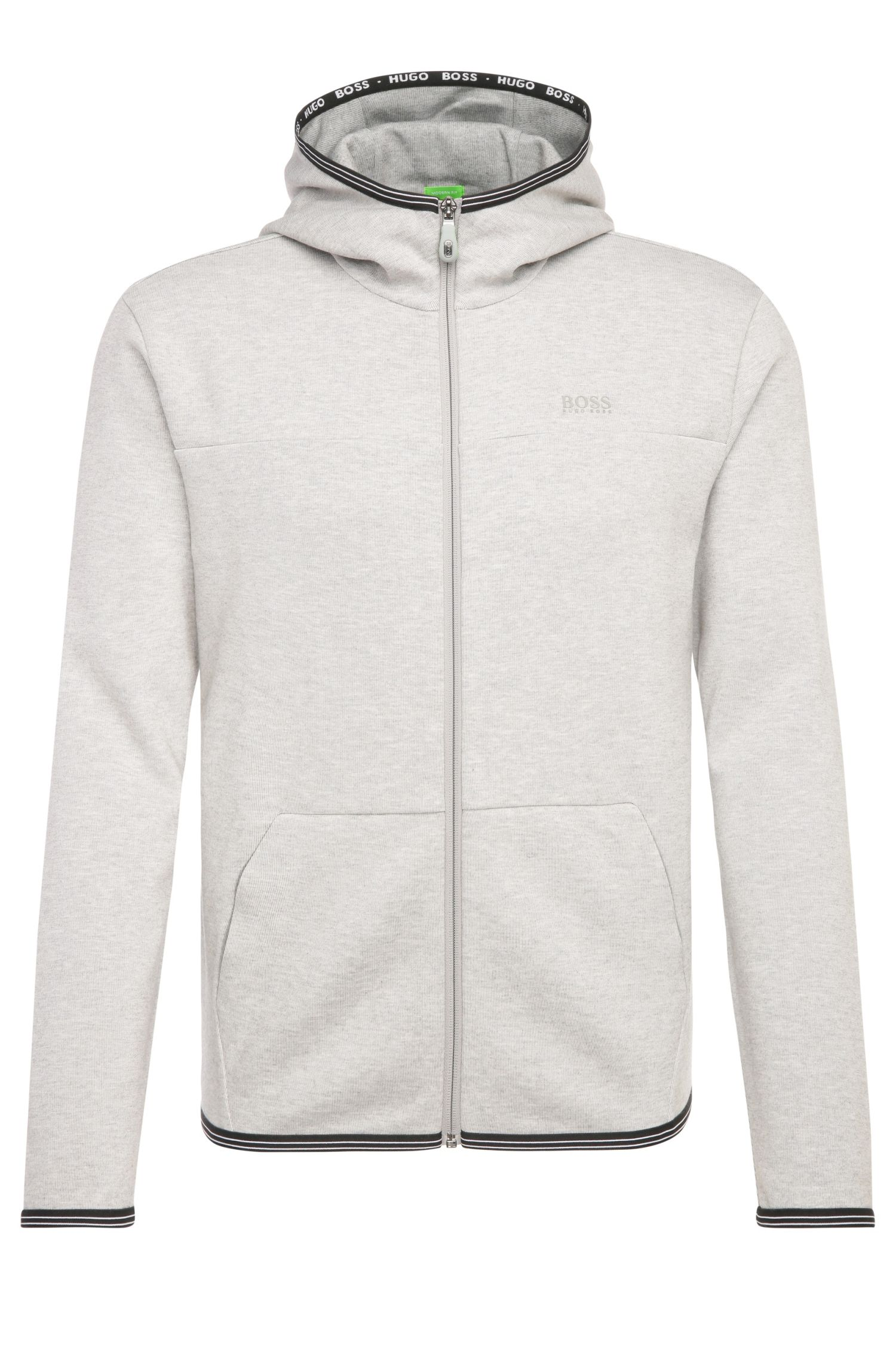 Blouson sweat Regular Fit en coton mélangé : « Skeach »