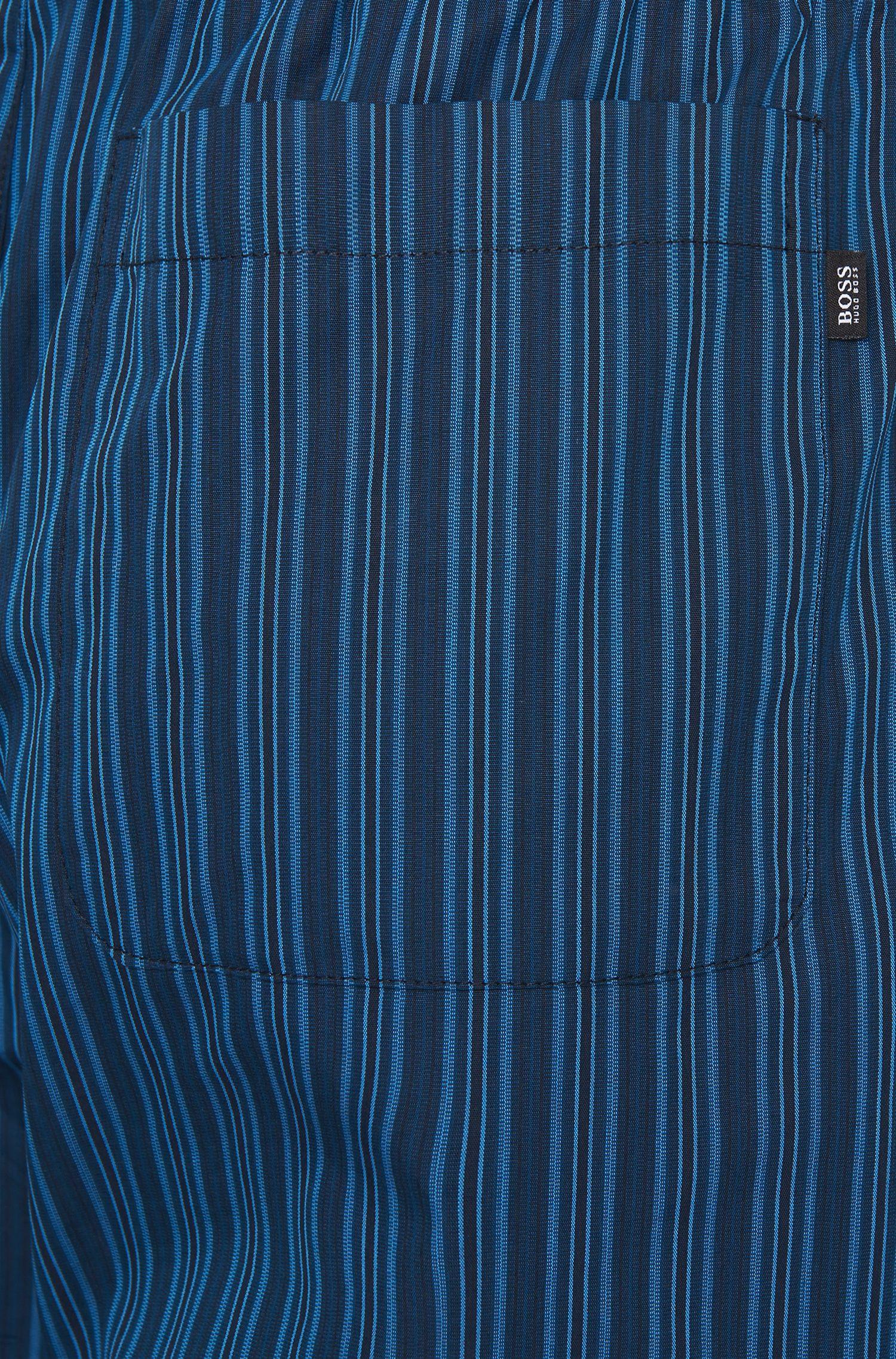 Gestreifte Pyjama-Hose aus Baumwolle mit Tunnelzug: 'Long Pant CW'