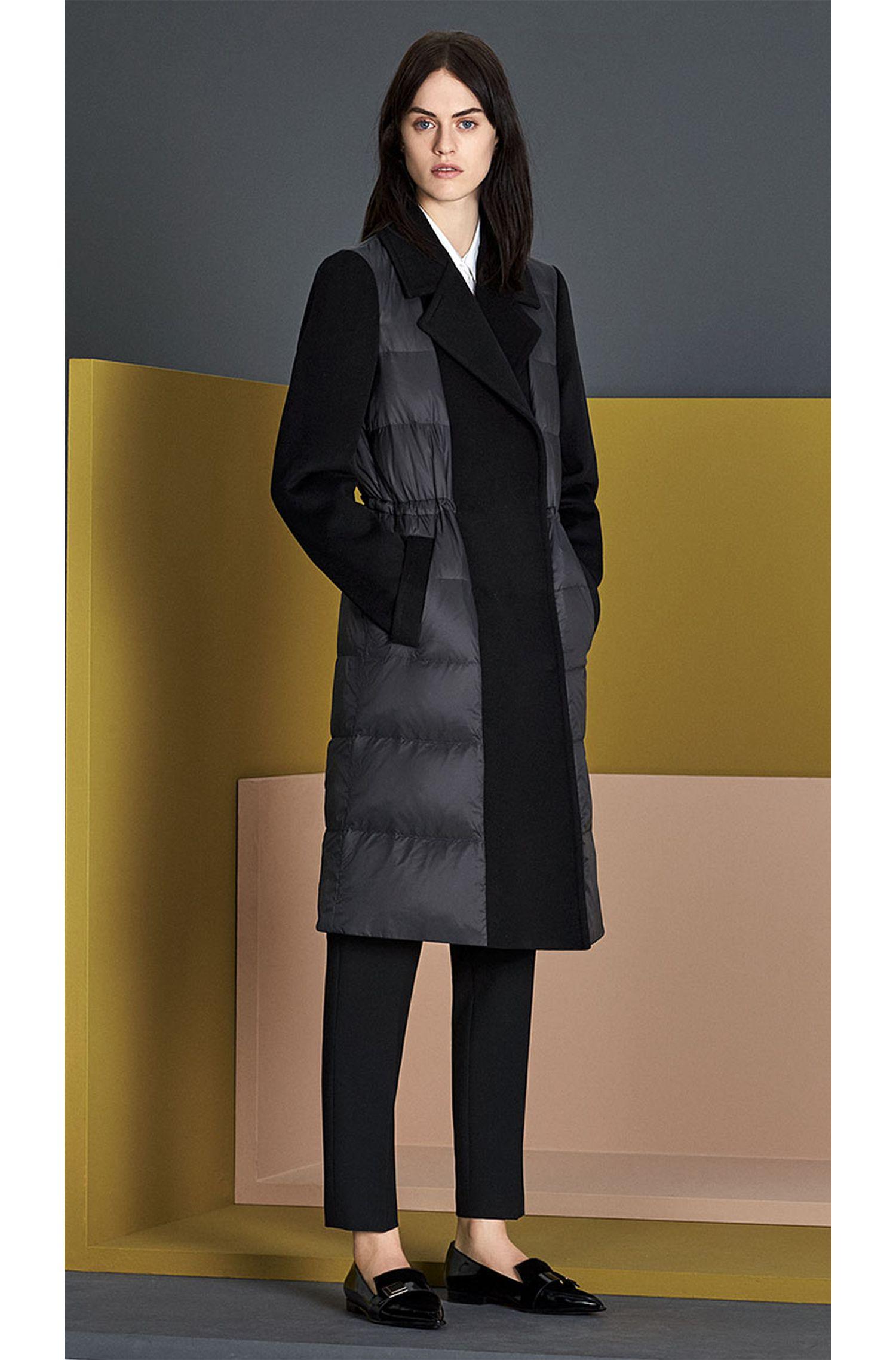 Bluse aus elastischer Baumwolle in verlängerter Passform: 'Betena'