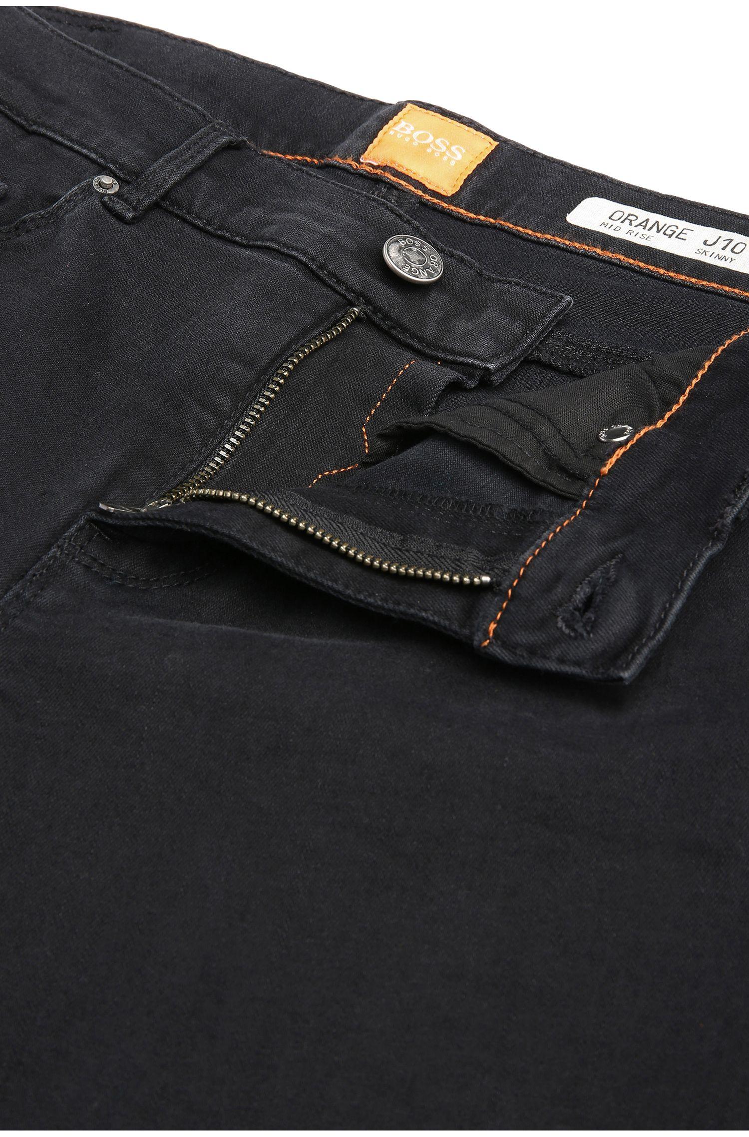 Jeans SkinnyFit en coton extensible mélangé: «Orange J10 Florida»