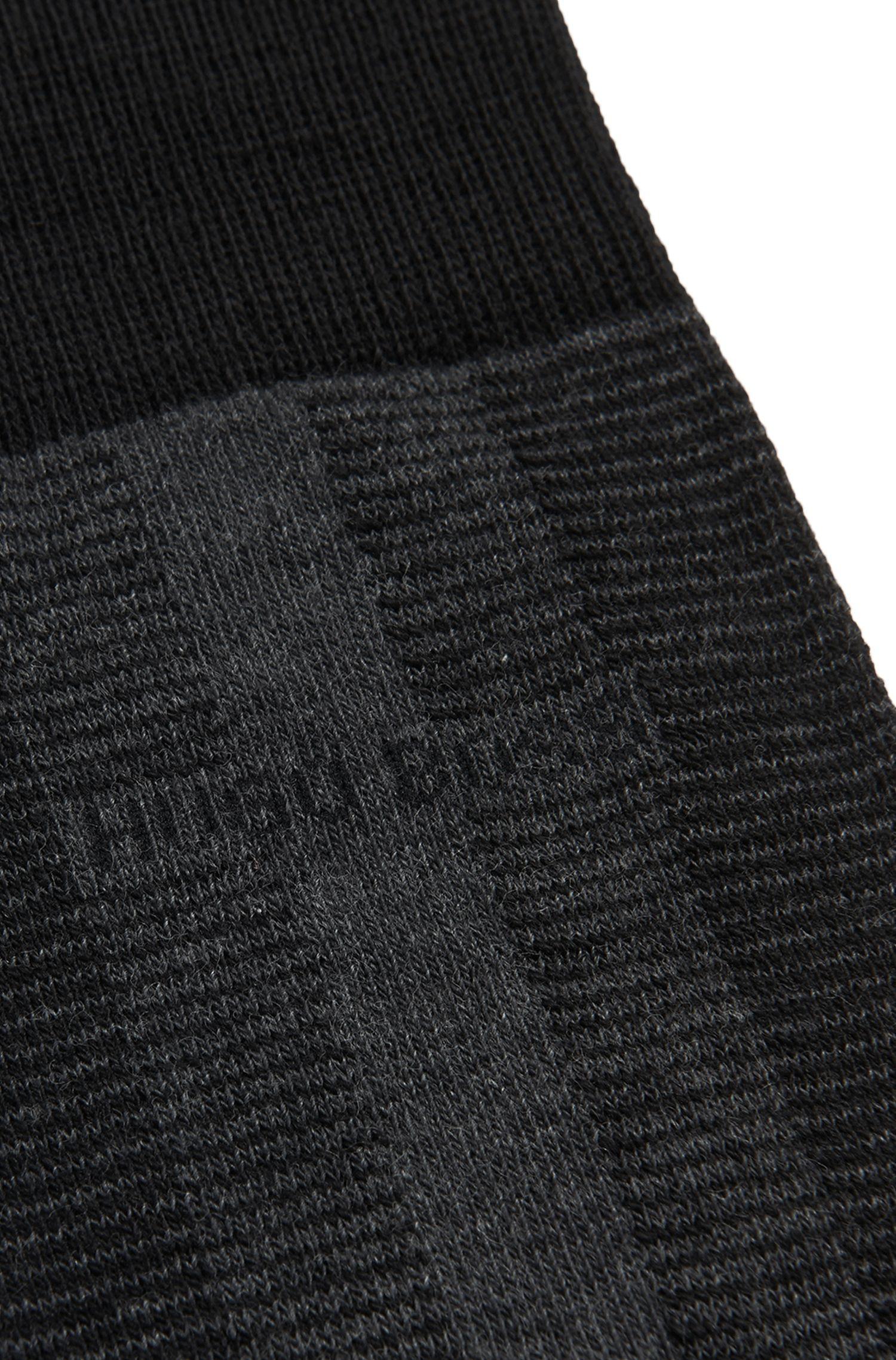 Gestreifte Socken aus Woll-Mix mit Baumwolle: 'RS Design US'