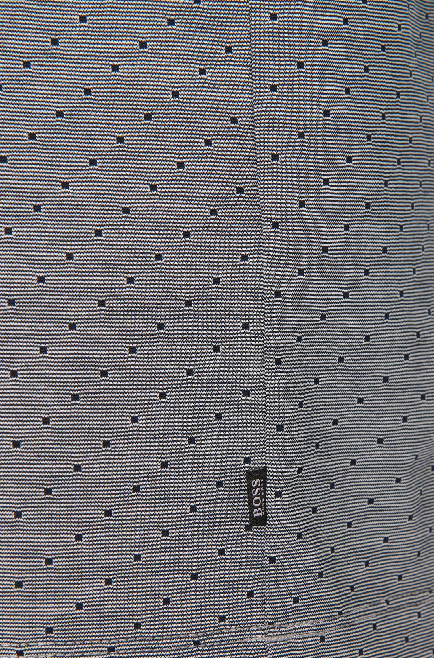 Longsleeve-pyjama van katoen met dessin: 'LS-Shirt VN'