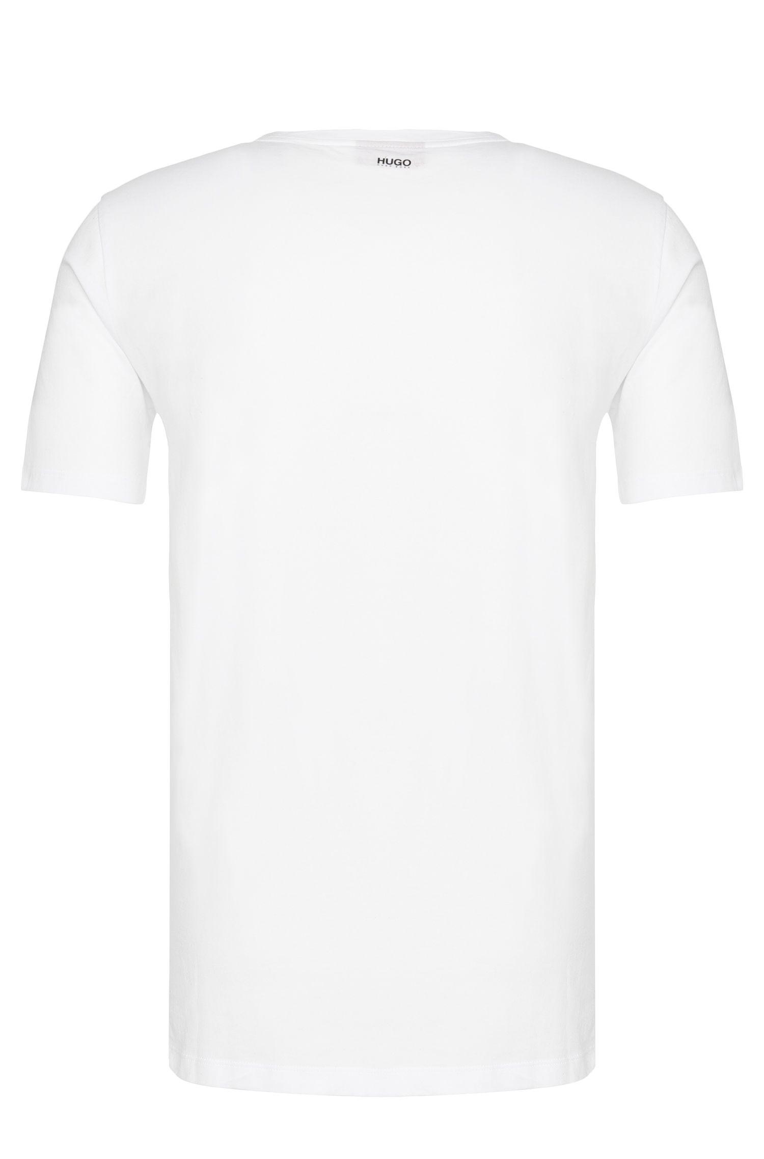 T-shirt Regular Fit en coton avec imprimé: «Doker»