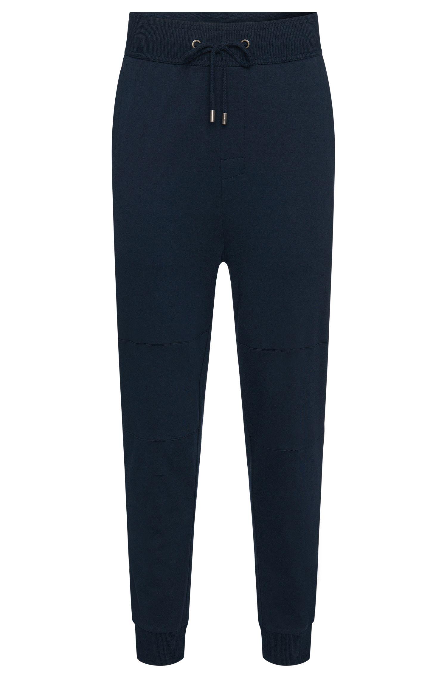 Pantalon de jogging uni en coton: «Long Pant Cuffs»