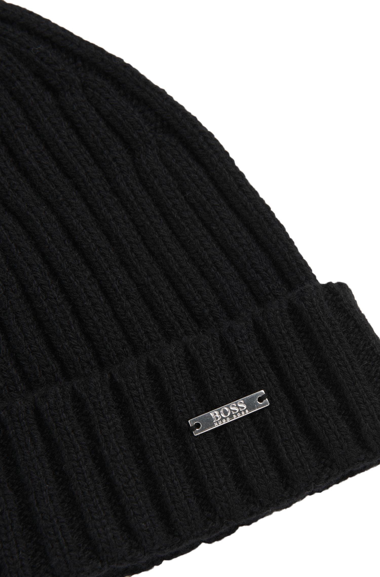 Tailored Mütze aus Kaschmir-Mix mit Schurwolle: 'T-Benzo'