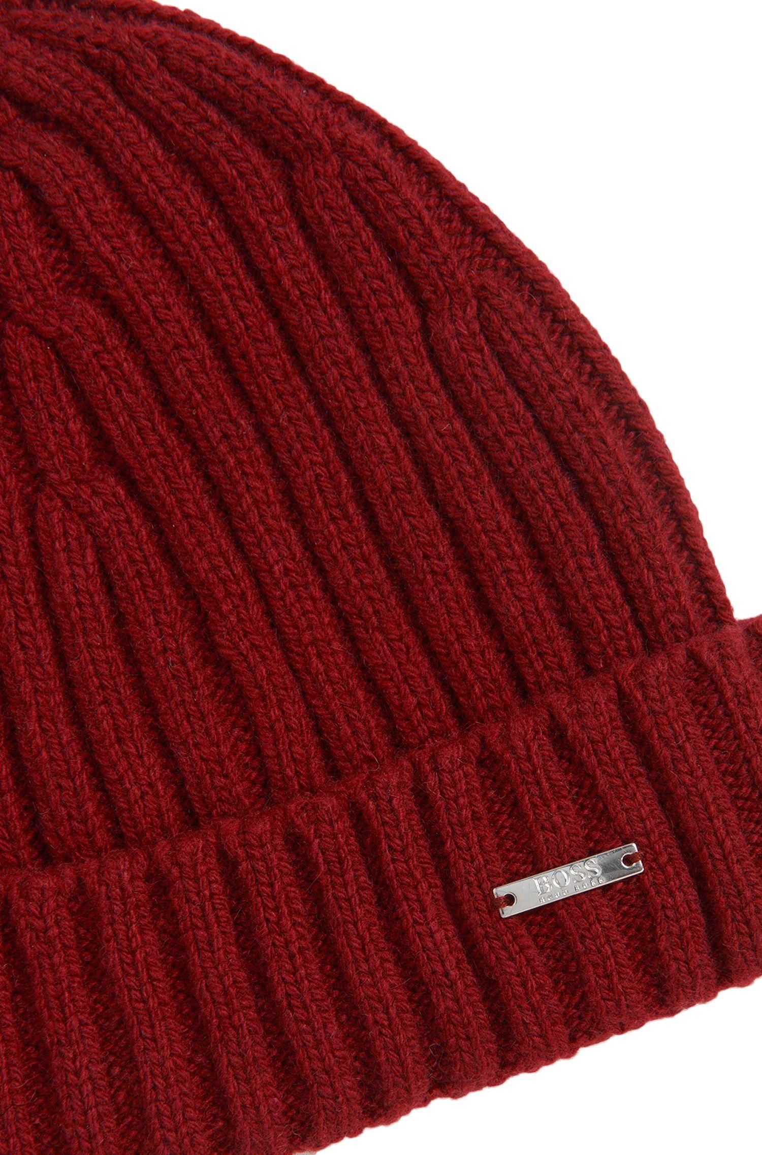 Bonnet Tailored en cachemire mélangé à de la laine vierge: «T-Benzo»