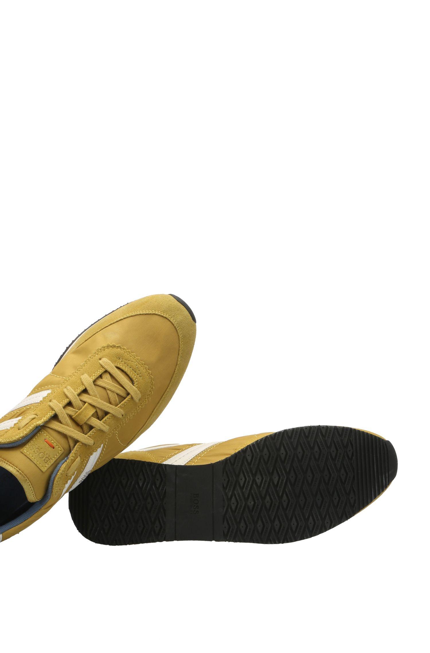 Sneakers aus einem Material-Mix mit Leder und Textil: ´Adrenal_Runn_ny`