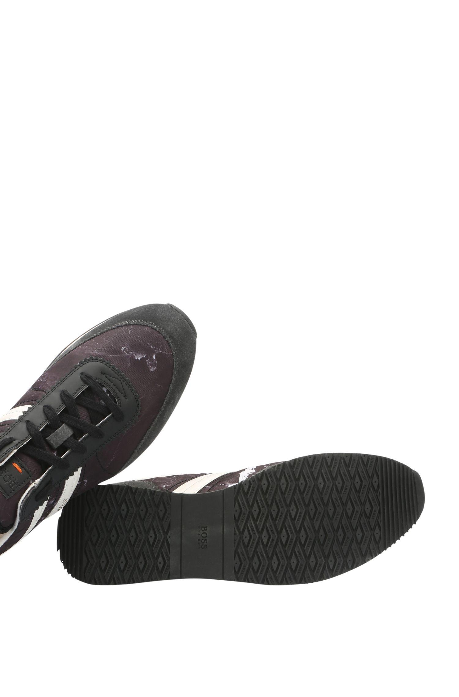 Sneakers mit Textil, Velours und Partien in Leder-Optik: ´Adrenal_Runn_nypr`