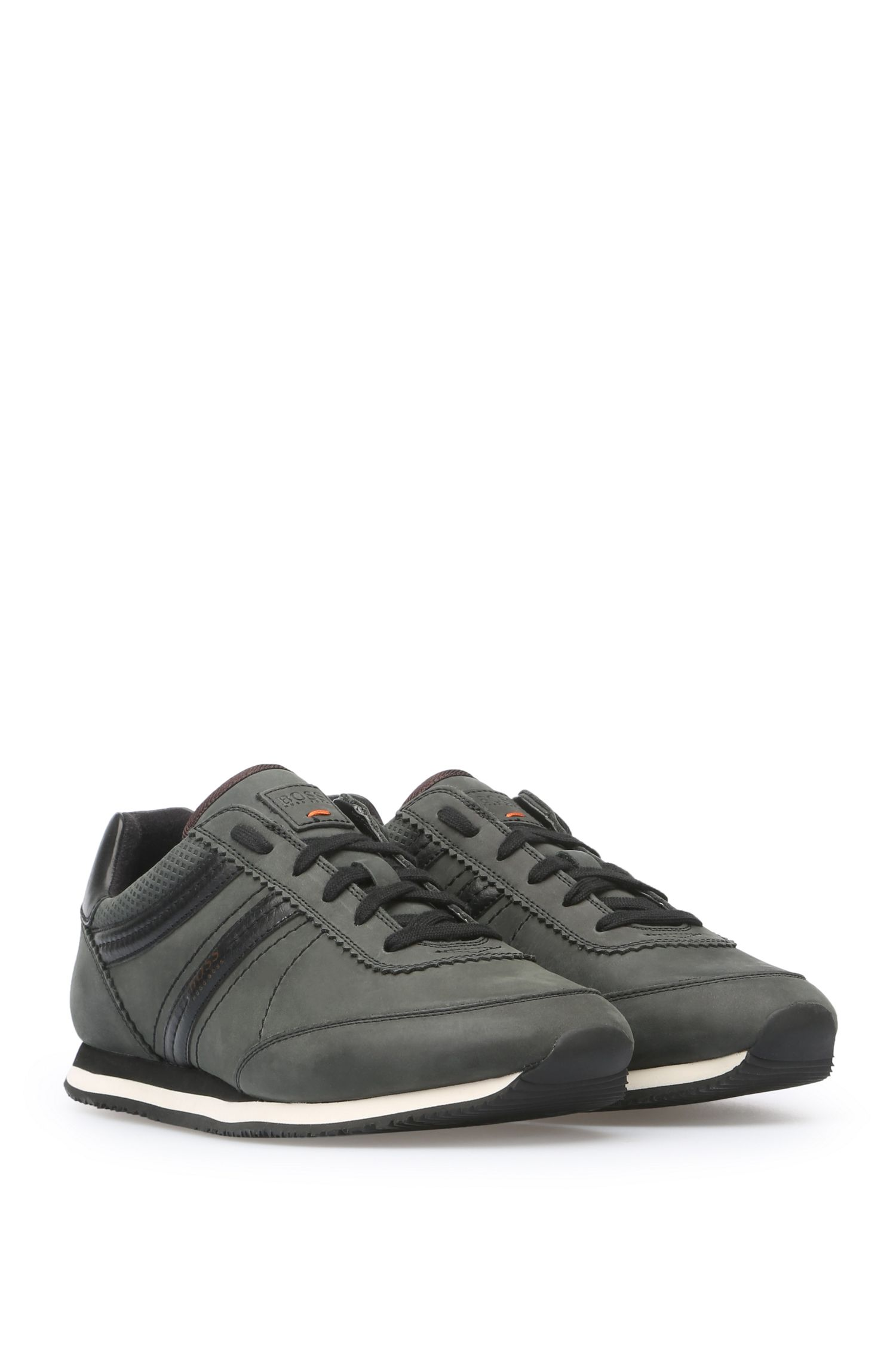 Sneakers aus gewachstem Leder: ´Bushwick_Tenn_cv`