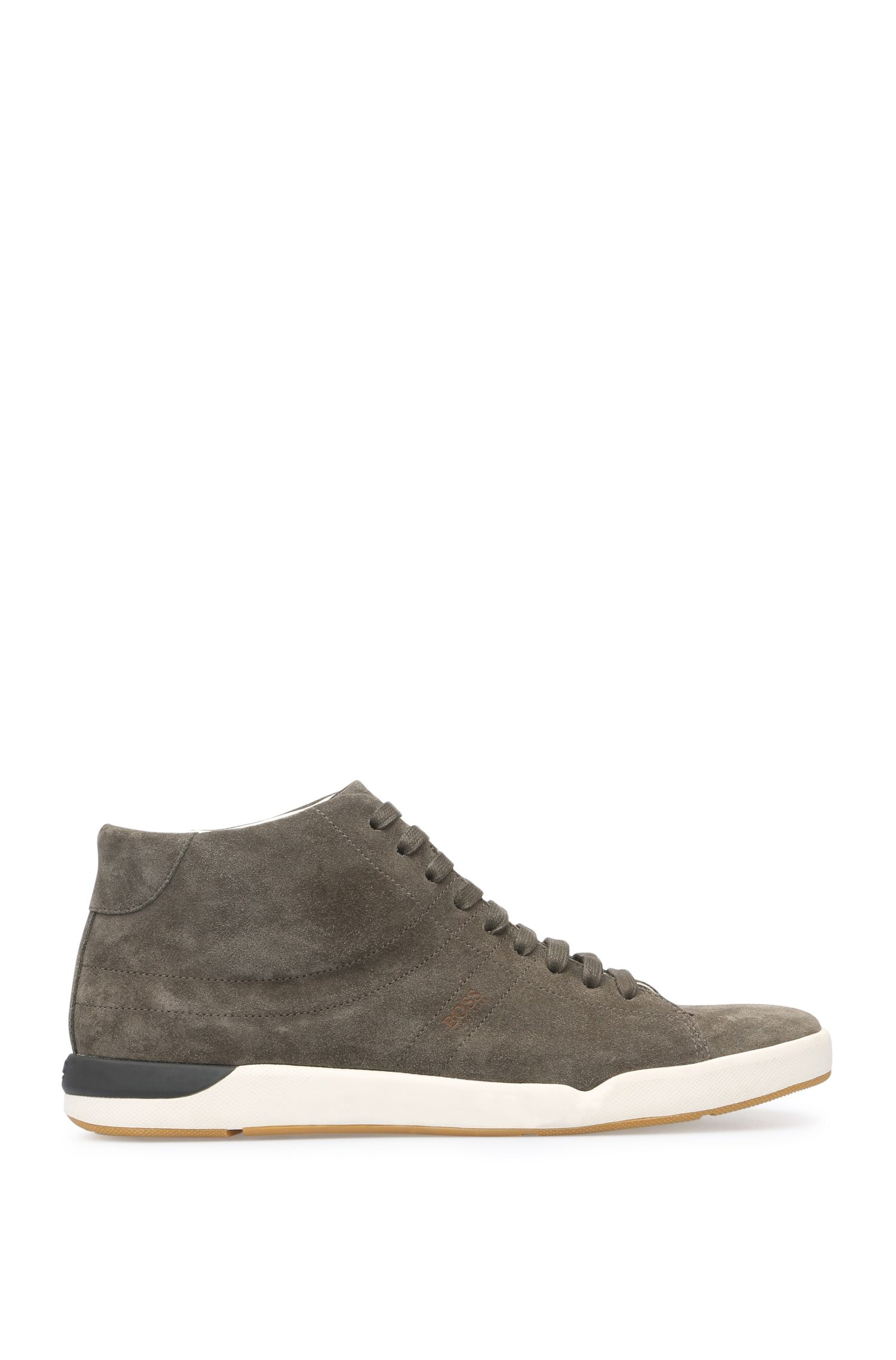 High Top Sneakers aus Veloursleder: ´Stillnes_Midc_sd`